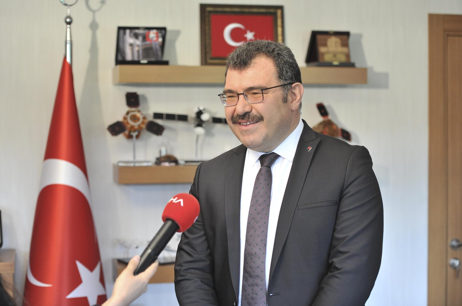 TÜBİTAK President Hasan Mandal. (DHA Photo)