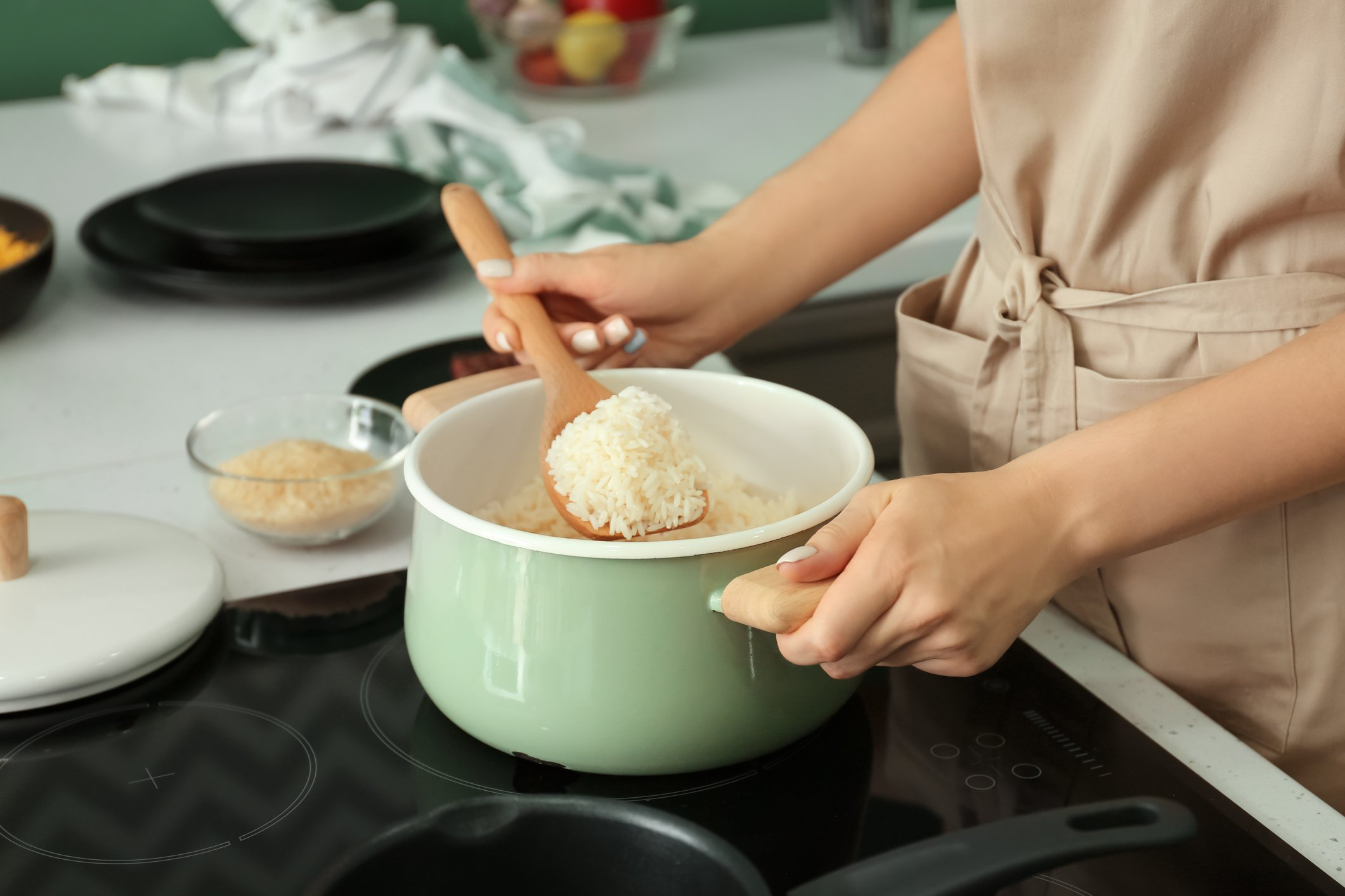 The key to cooking rice is knowing what kind to use and not stir too often. (iStock Photo)