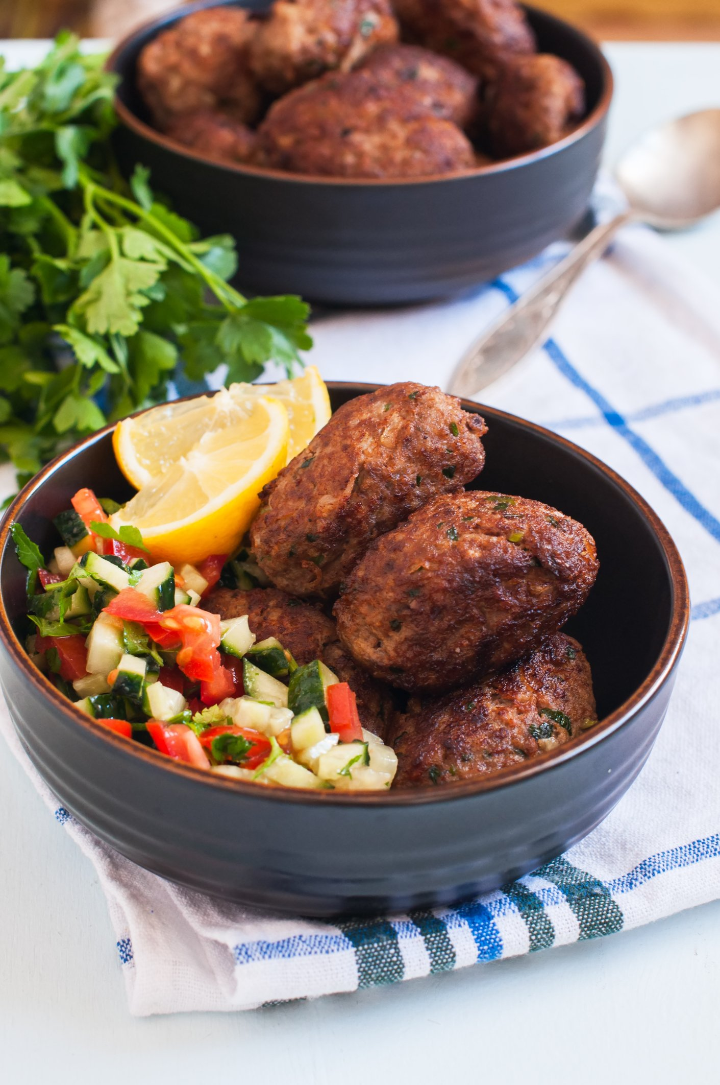 If you are a bit low on minced meat, these meatballs with potatoes will save the day. (iStock Photo)