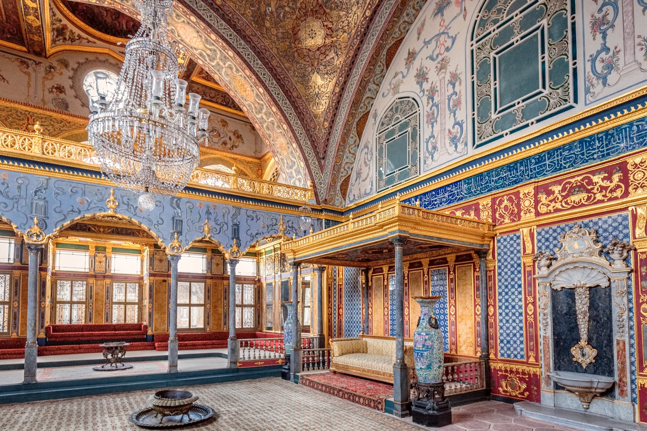 Istanbul's famed Topkapı Palace, the court of the Ottoman sultans, is available for a virtual tour. (iStock Photo)