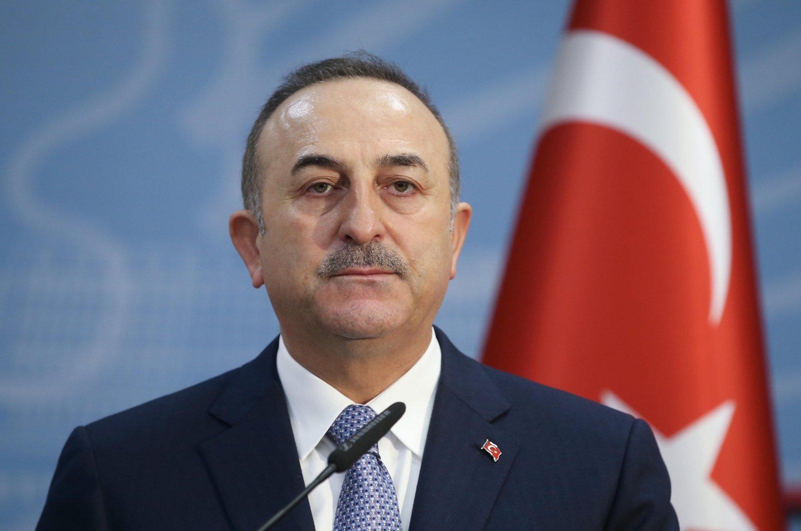 Turkish Foreign Minister Mevlüt Çavuşoğlu in seen in this undated photo. (AA Photo)