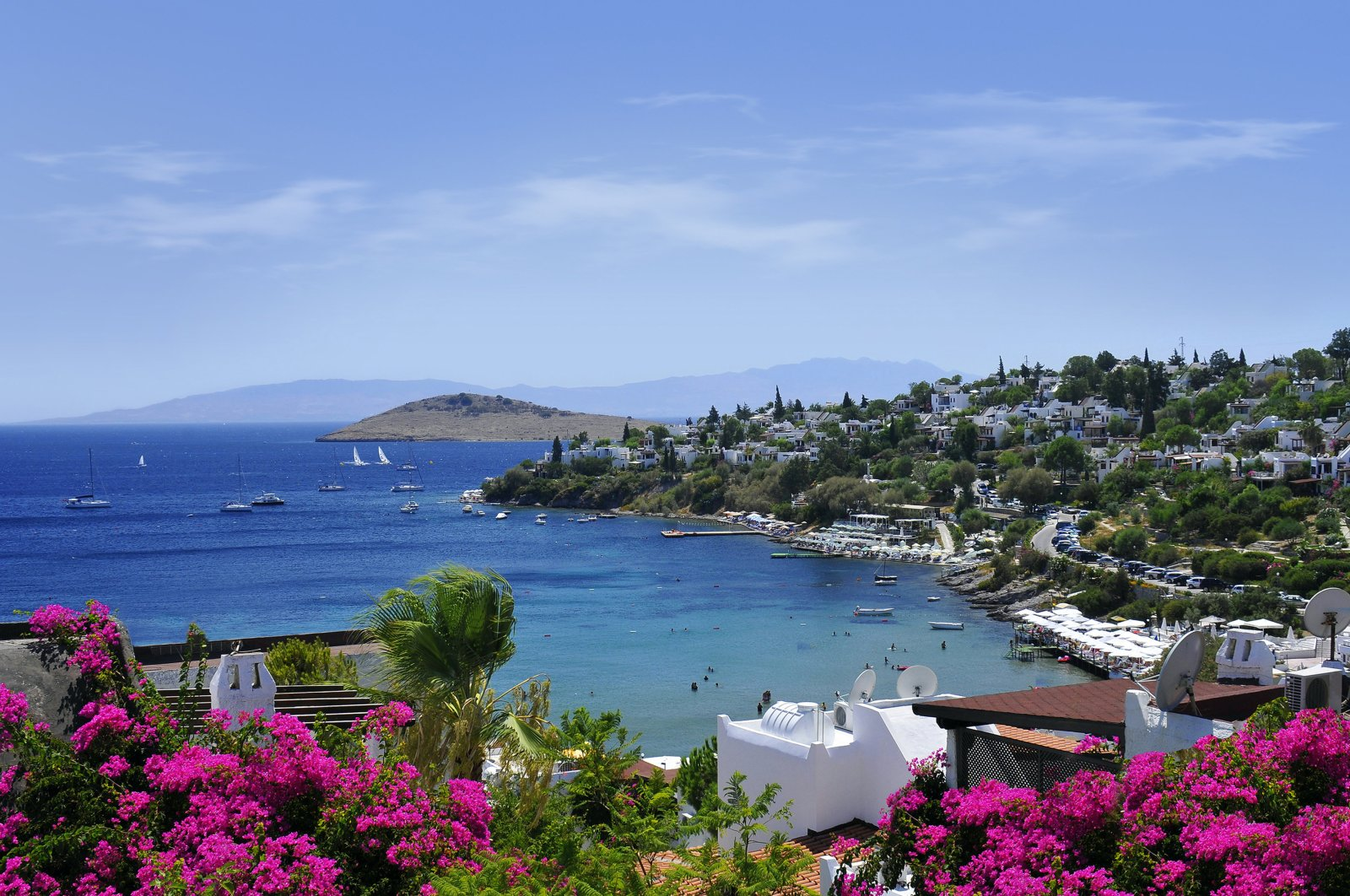 A view from the famous resort town of Bodrum, located in Turkey's southern Muğla province. (iStock Photo)
