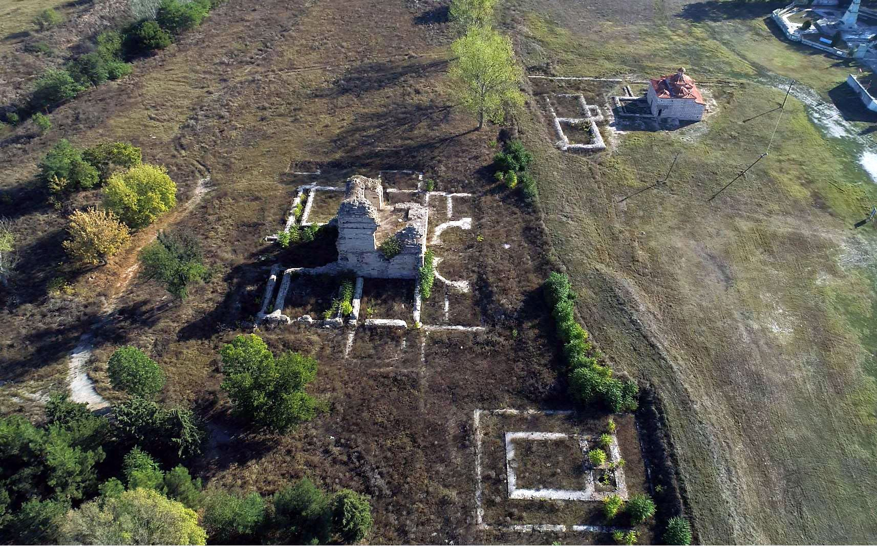 An aeriel view of the site. (AA Photo)
