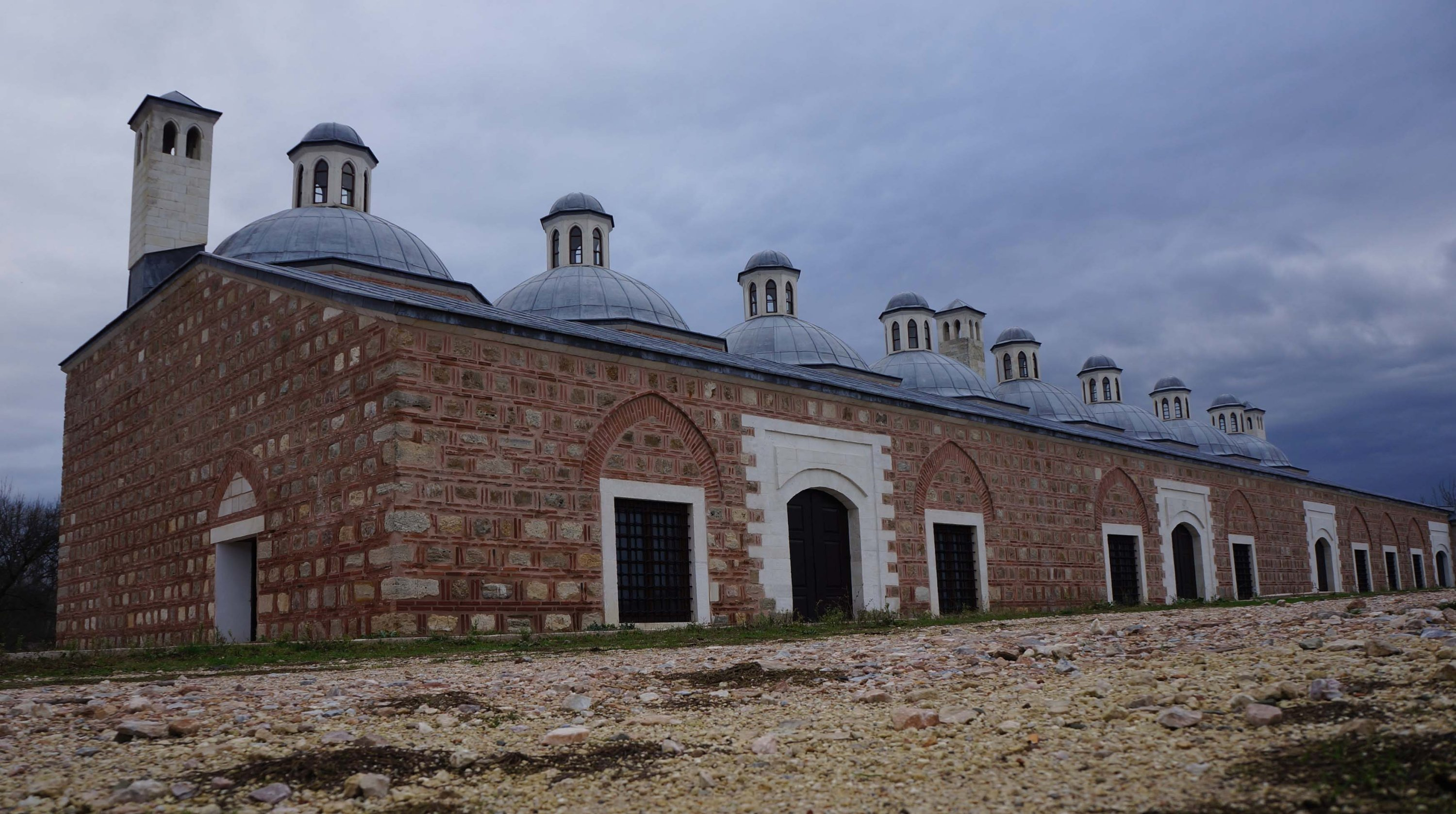 The imperial kitchen at Edirne Palace will be turned into a museum. (AA Photo)