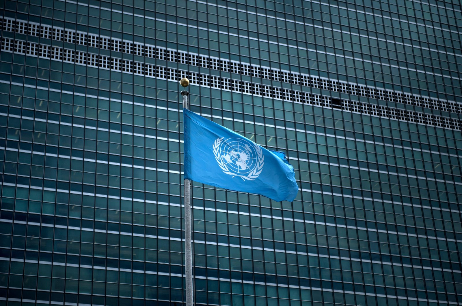 The United Nations headquarters seen during the 72nd session of the United Nations General Assembly September in New York, Sept. 19, 2017. (AFP Photo)