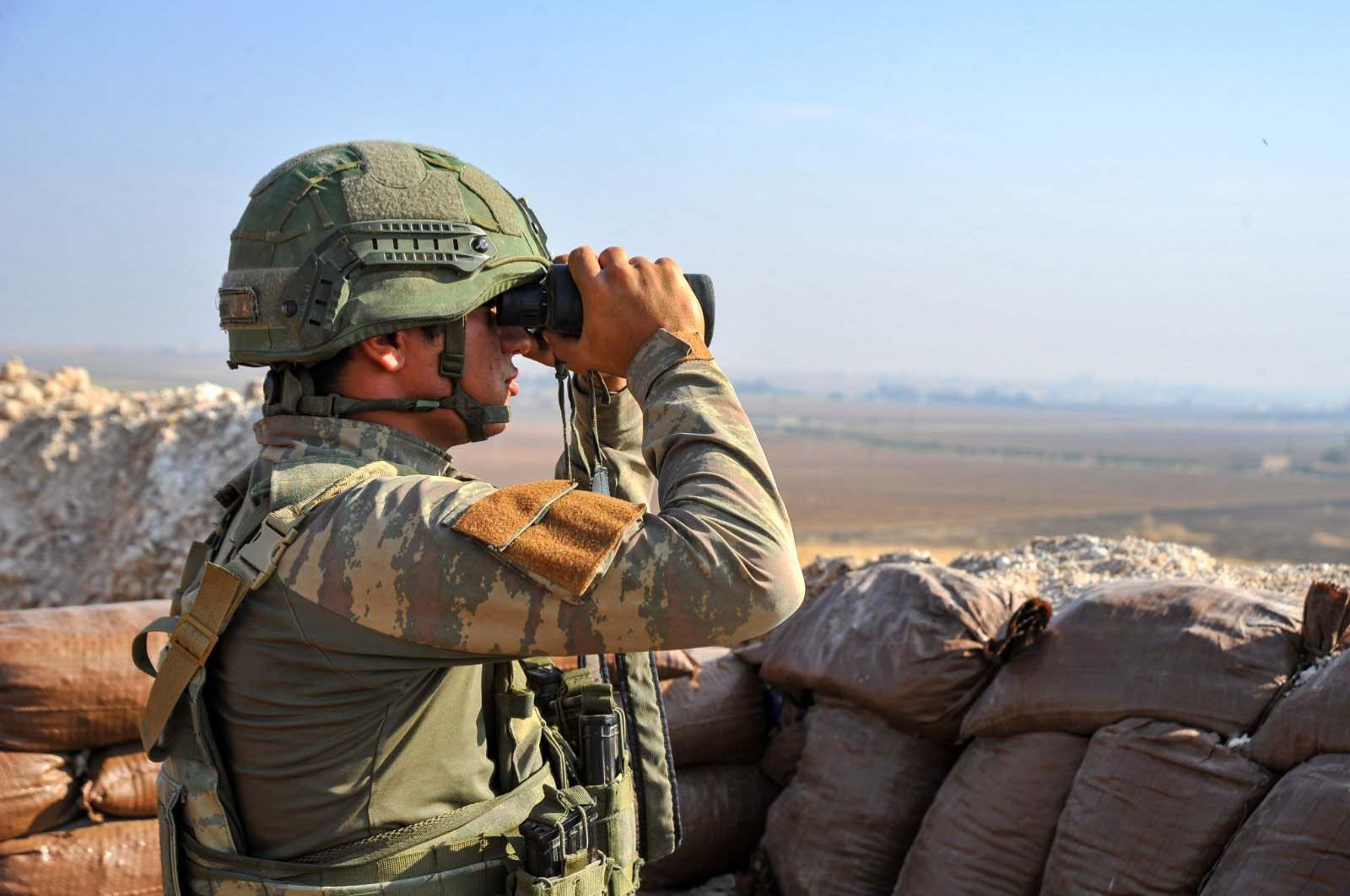 Turkey launched Operation Peace Spring, the third in a series of cross-border anti-terror operations in northern Syria targeting terrorists affiliated with Daesh and the PKK's Syrian offshoot, the YPG, on Oct. 9, 2019. (DHA)