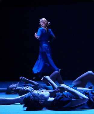 """Mr. Gaga"" portrays the dance methods of Ohad Naharin. (photo courtesy of PeraMuseum.org)"