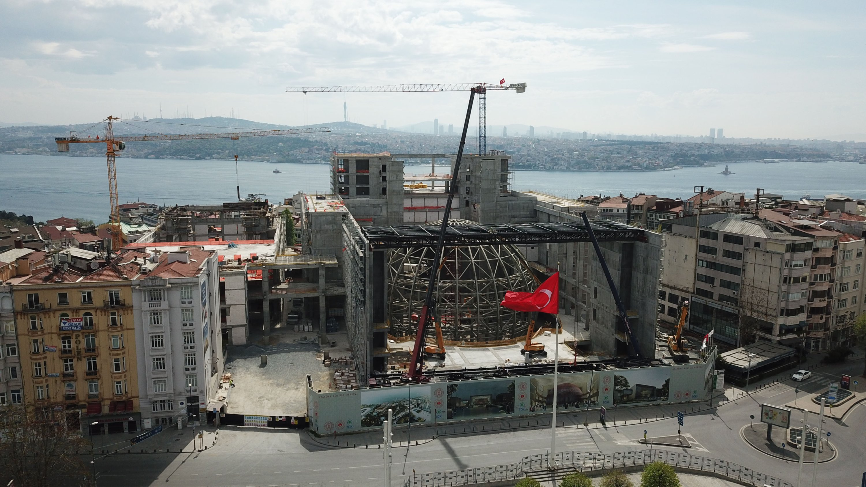 A photo of the AKM construction. (DHA Photo)
