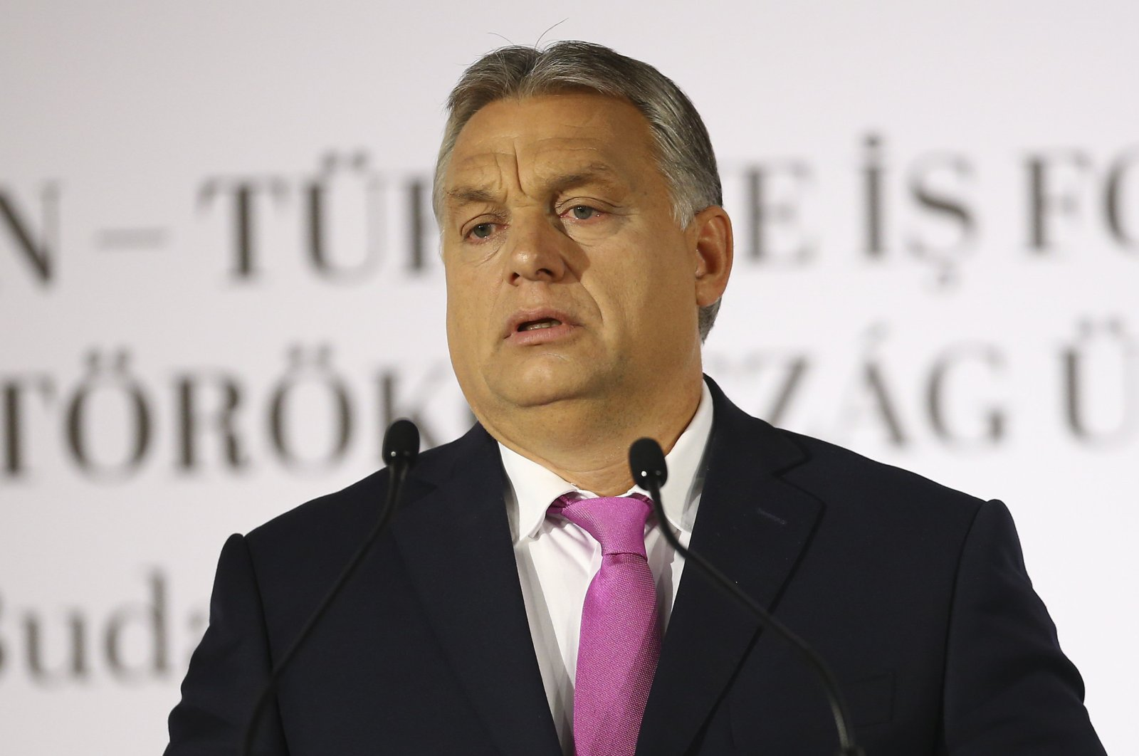 Hungarian Prime Minister Victor Orban. (AA)