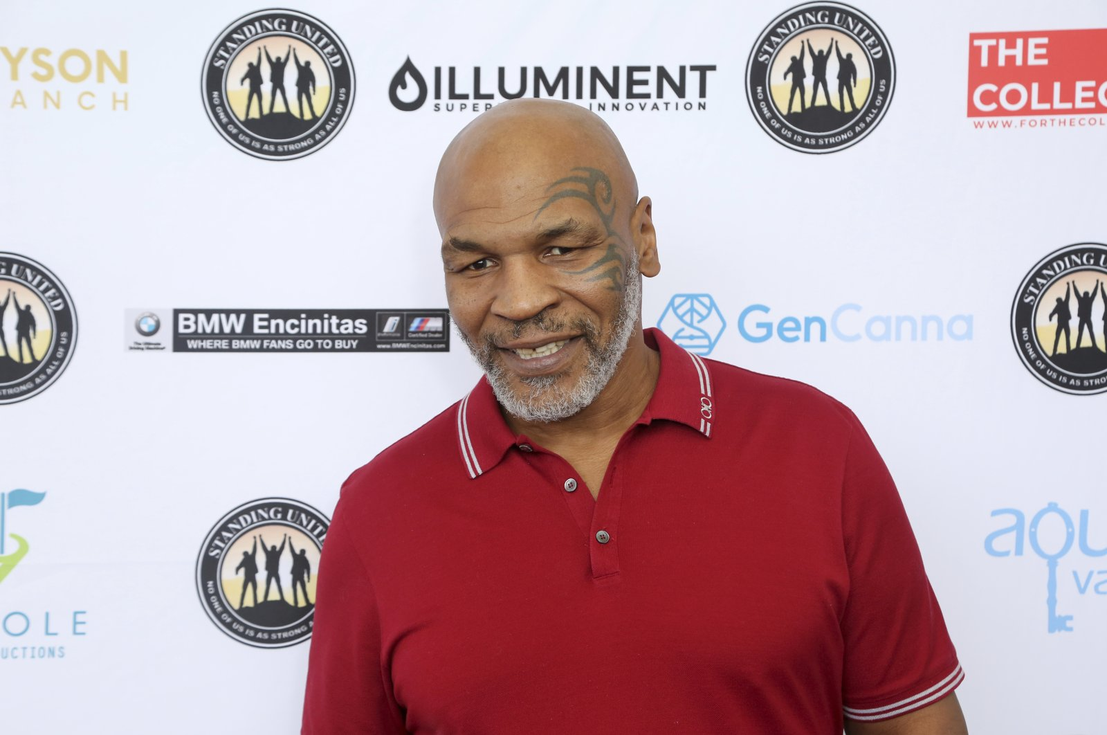 Mike Tyson attends an event in Dana Point, California, U.S., Aug. 3, 2019. (AP Photo)