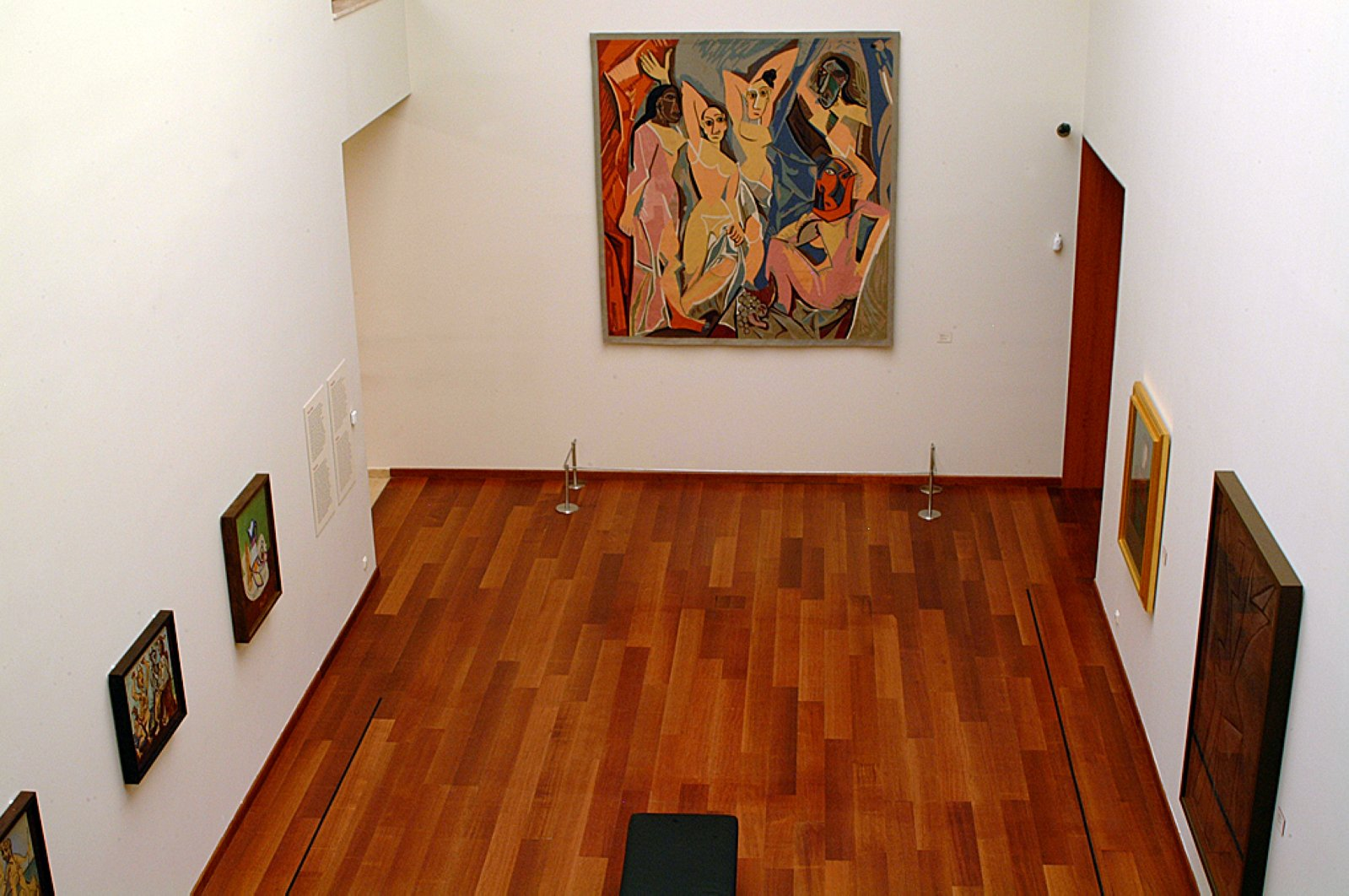 """A frame showing some works from the """"Picasso in Istanbul"""" exhibition. (Courtesy of SSM)"""