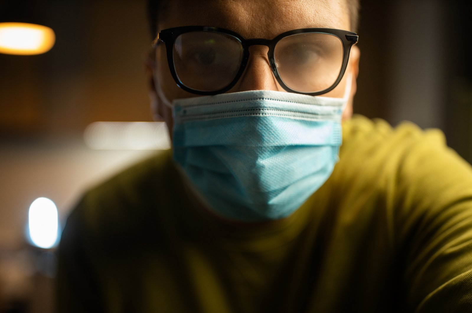 Anyone who has worn glasses has probably struggled with their specs fogging up in certain conditions. (iStock Photo)