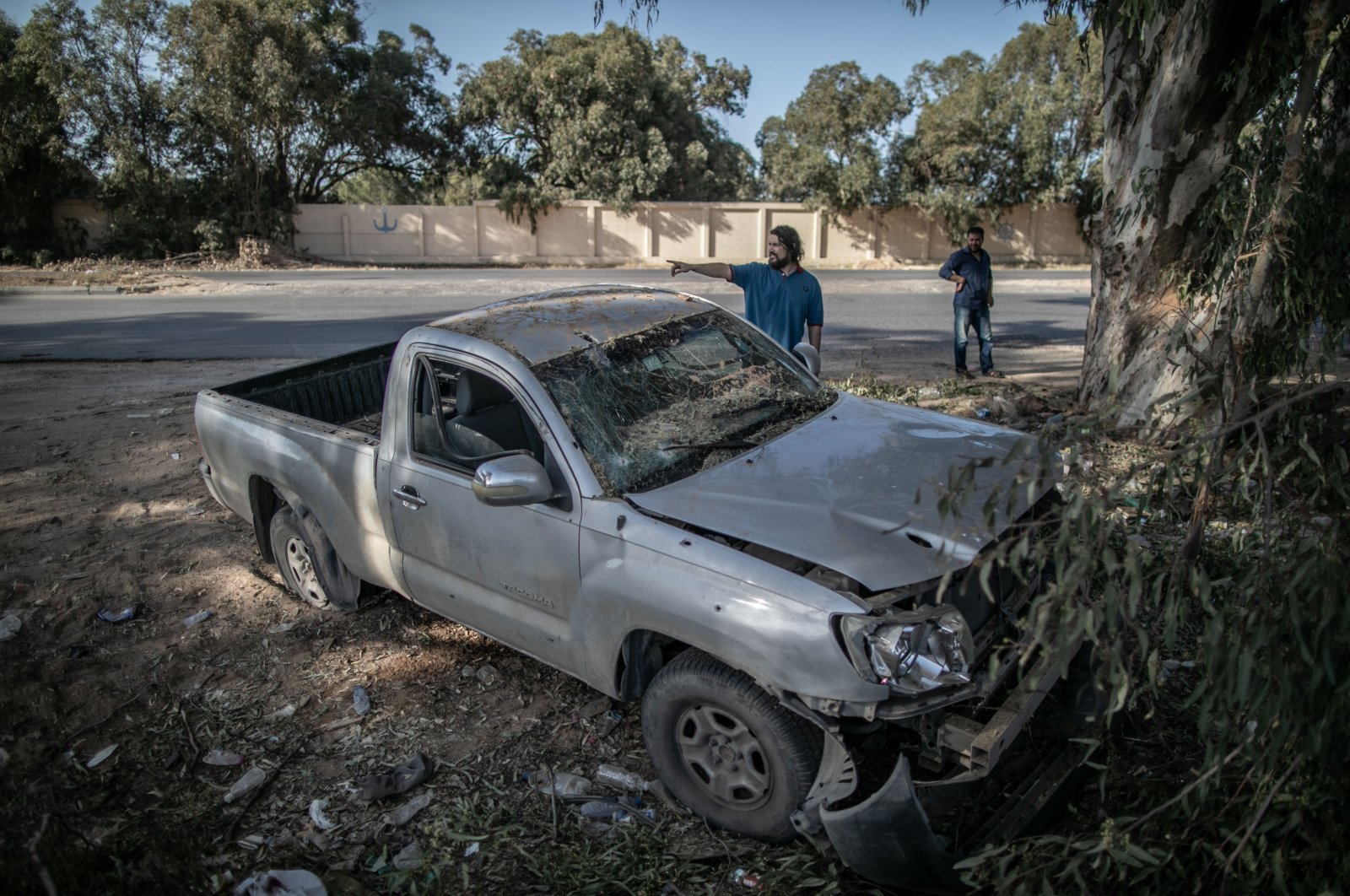 Since April 2019, the U.N.-backed Government of National Accord (GNA) has been under attack by Haftar's forces, based in eastern Libya, and more than 1,000 people have been killed in the violence. (AA)