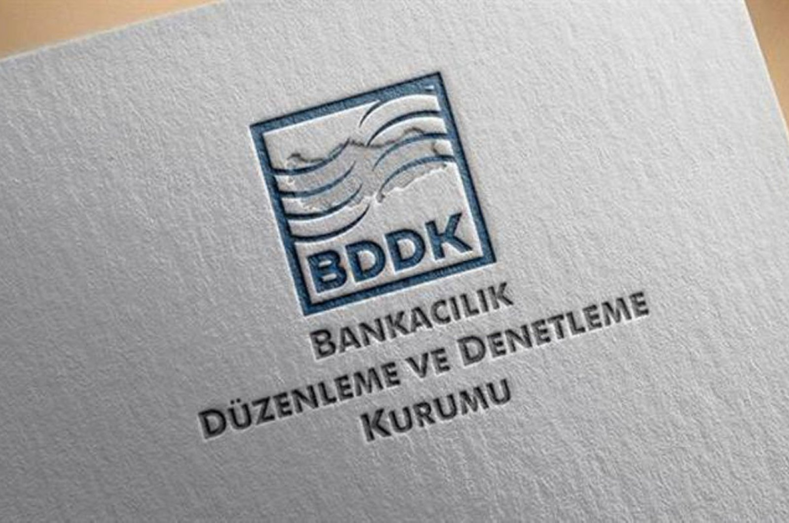 The logo of the Banking Regulation and Supervision Agency (BDDK) is seen in this undated file photo.