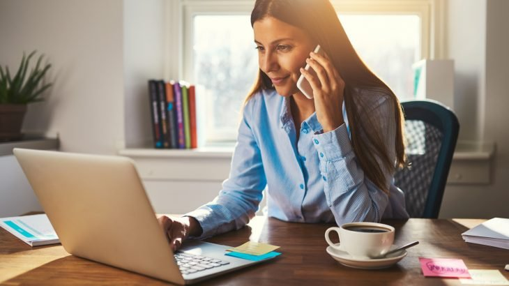 According to Eurostat data, women are said to work more from home than men.