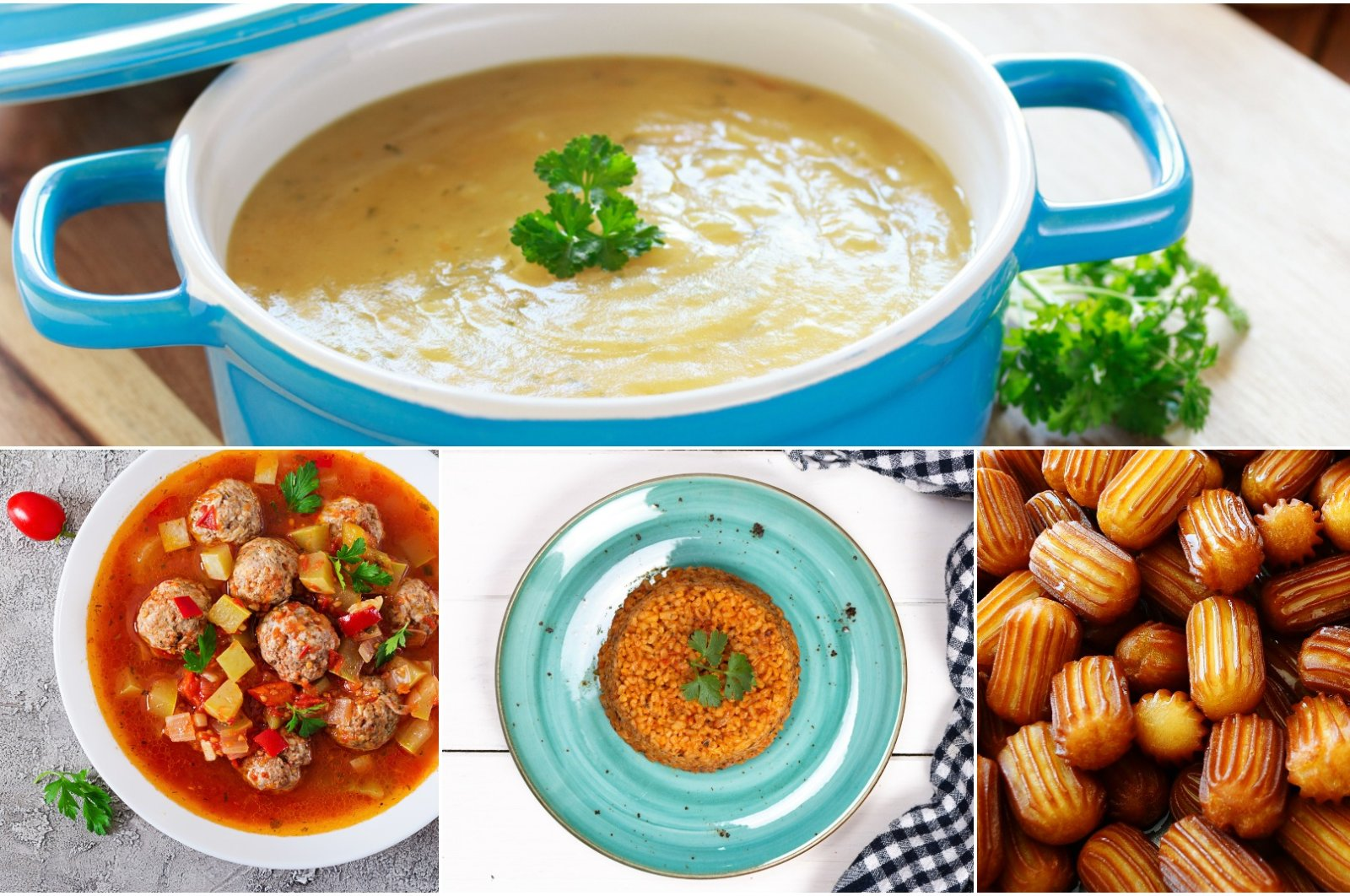 This week's iftar menu for Ramadan takes on simple Turkish dishes with little twists. (iStock Photos)