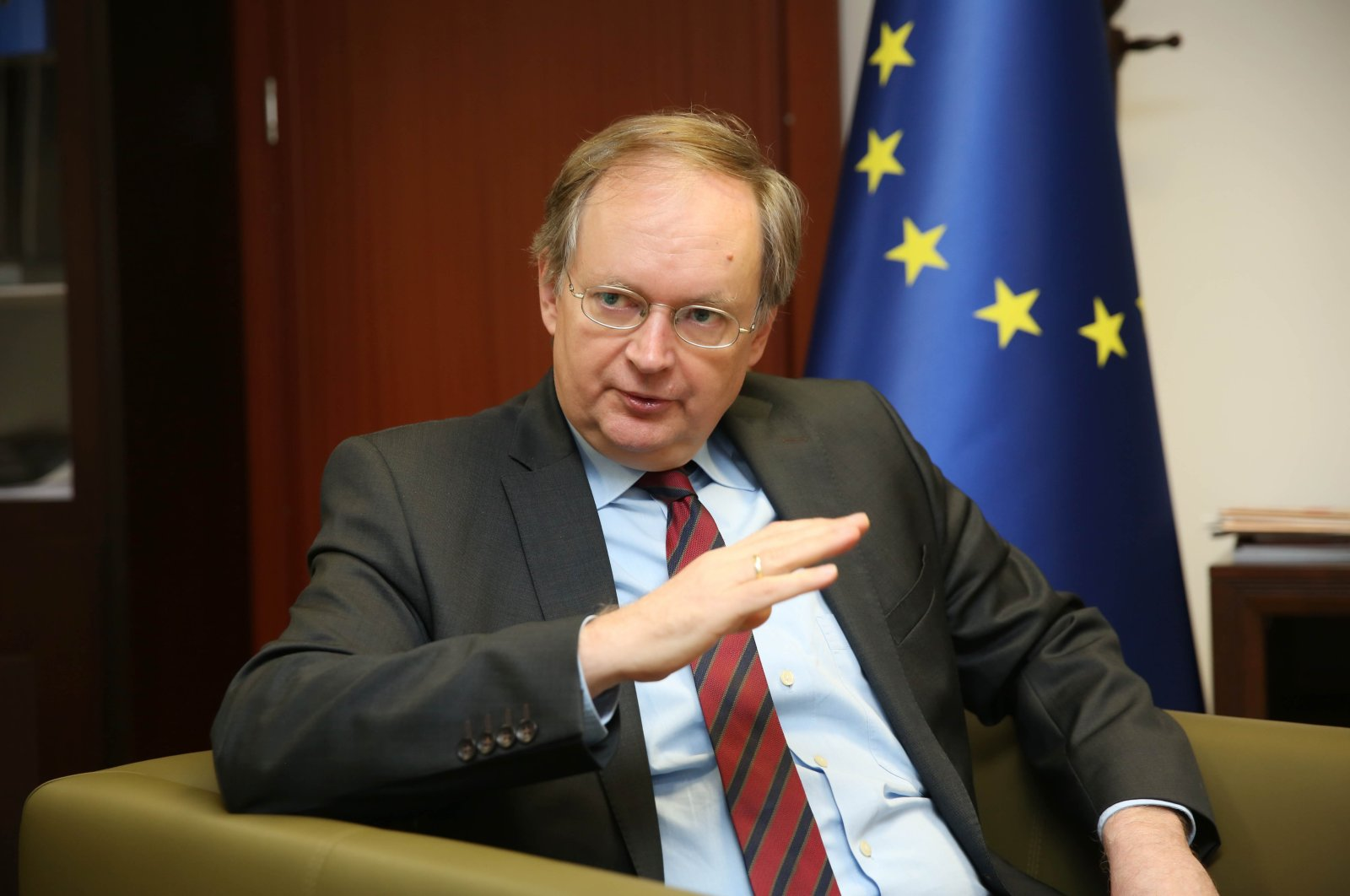 The head of the EU delegation to Turkey, Christian Berger, June 1, 2017. (Daily Sabah File Photo)