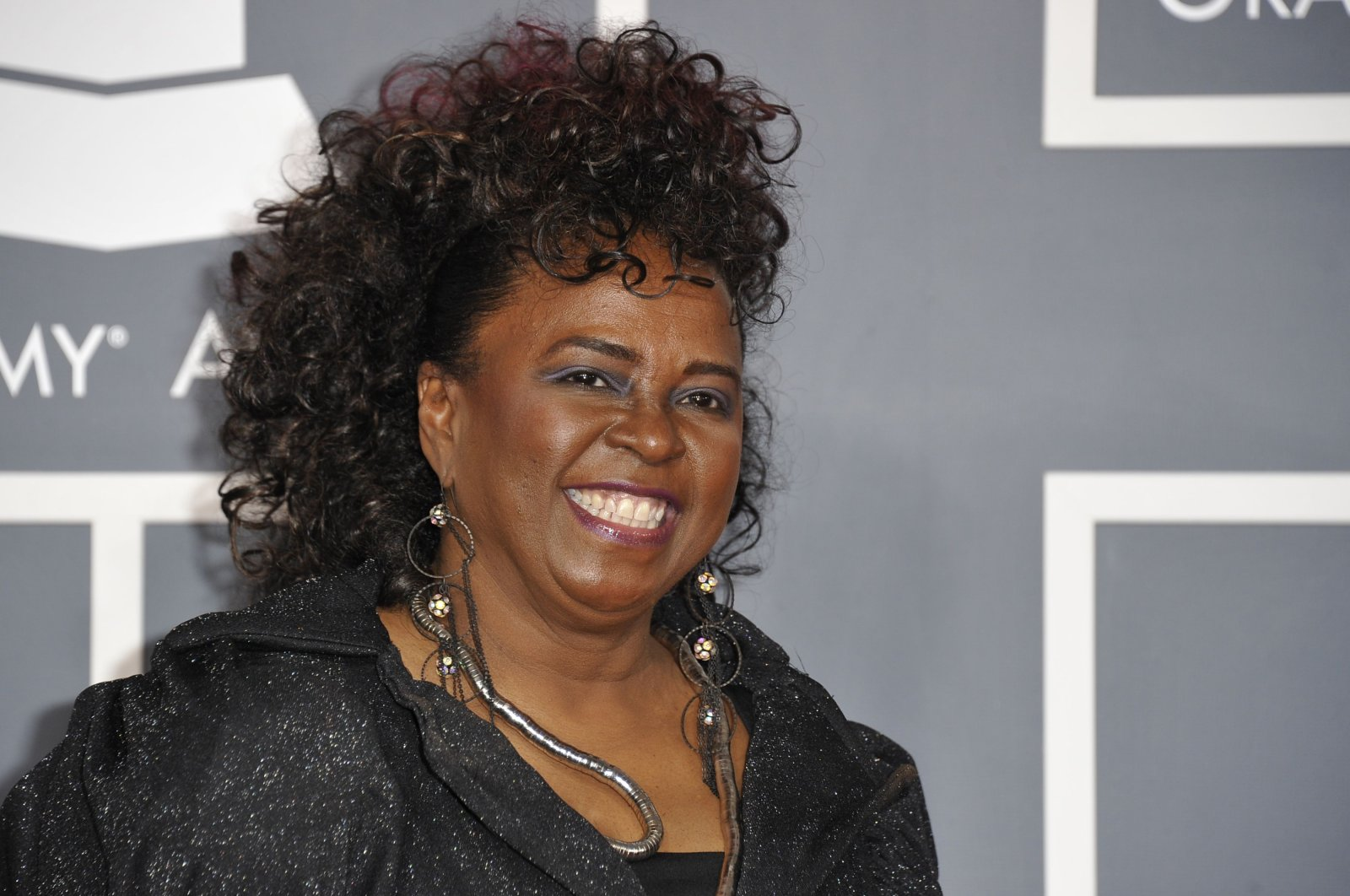 In this file photo singer Betty Wright arrives at the Staples Center for the 54th Grammy Awards in Los Angeles, California, Feb. 12, 2012. (AFP Photo)