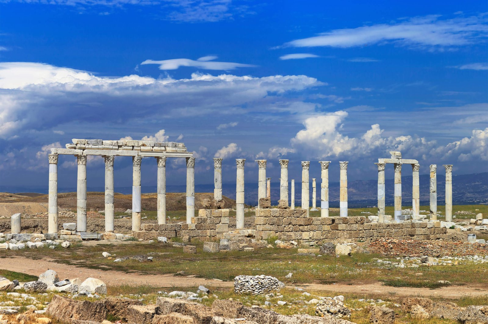 The Laodikeia Ancient City is located within the borders of southern Denizli province. (iStock Photo)