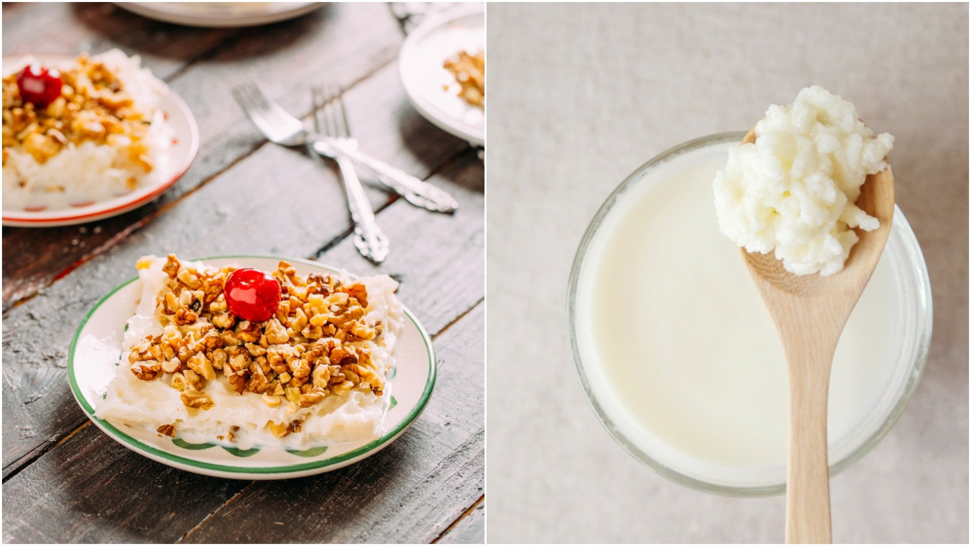 Instead of heavy desserts, feast on some traditional güllaç or a glass of kefir and berries for dessert. (iStock Photos)