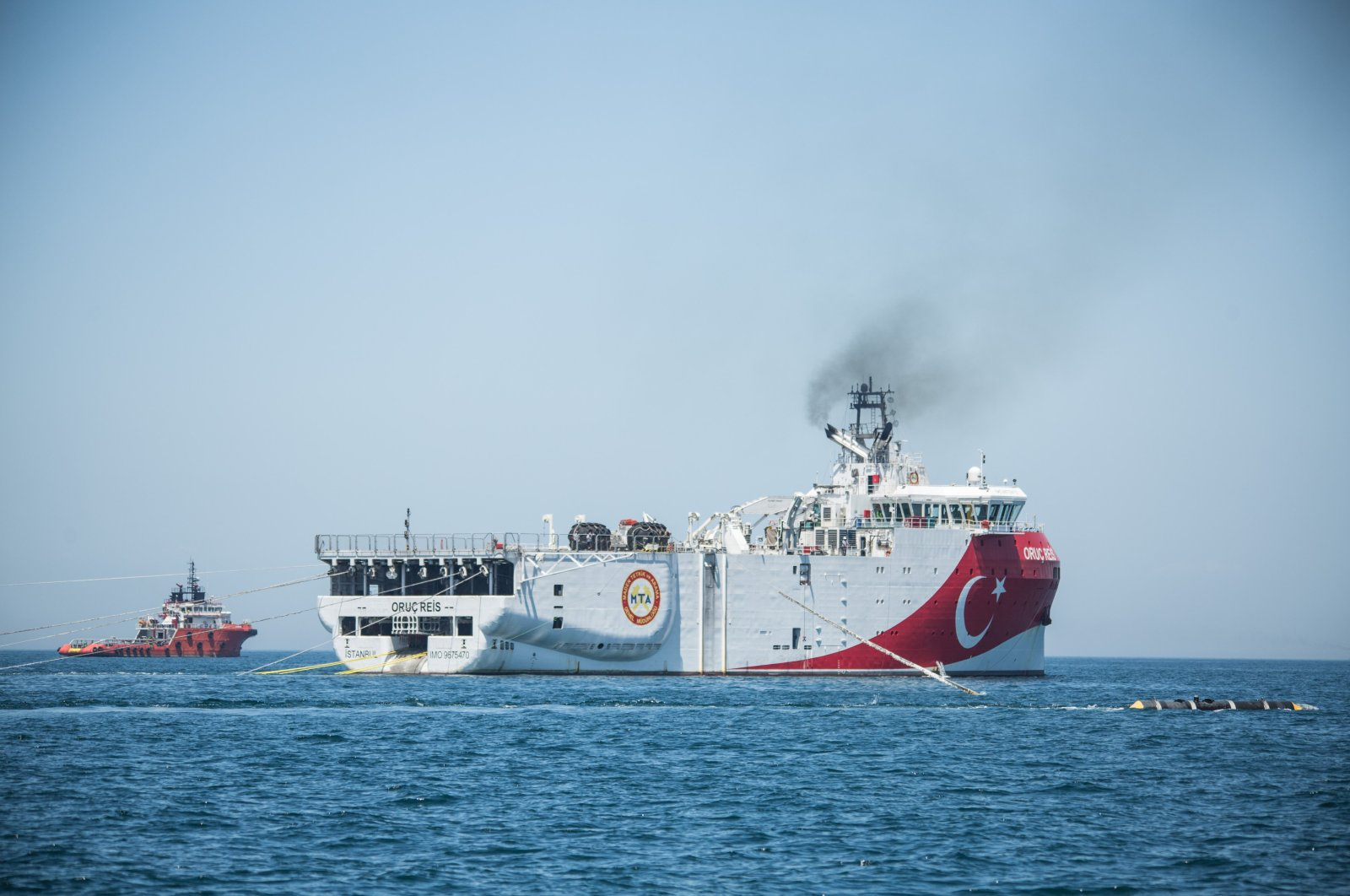 Turkish seismic exploration vessel MTA Oruç Reis, July 18, 2019 (DHA File Photo)