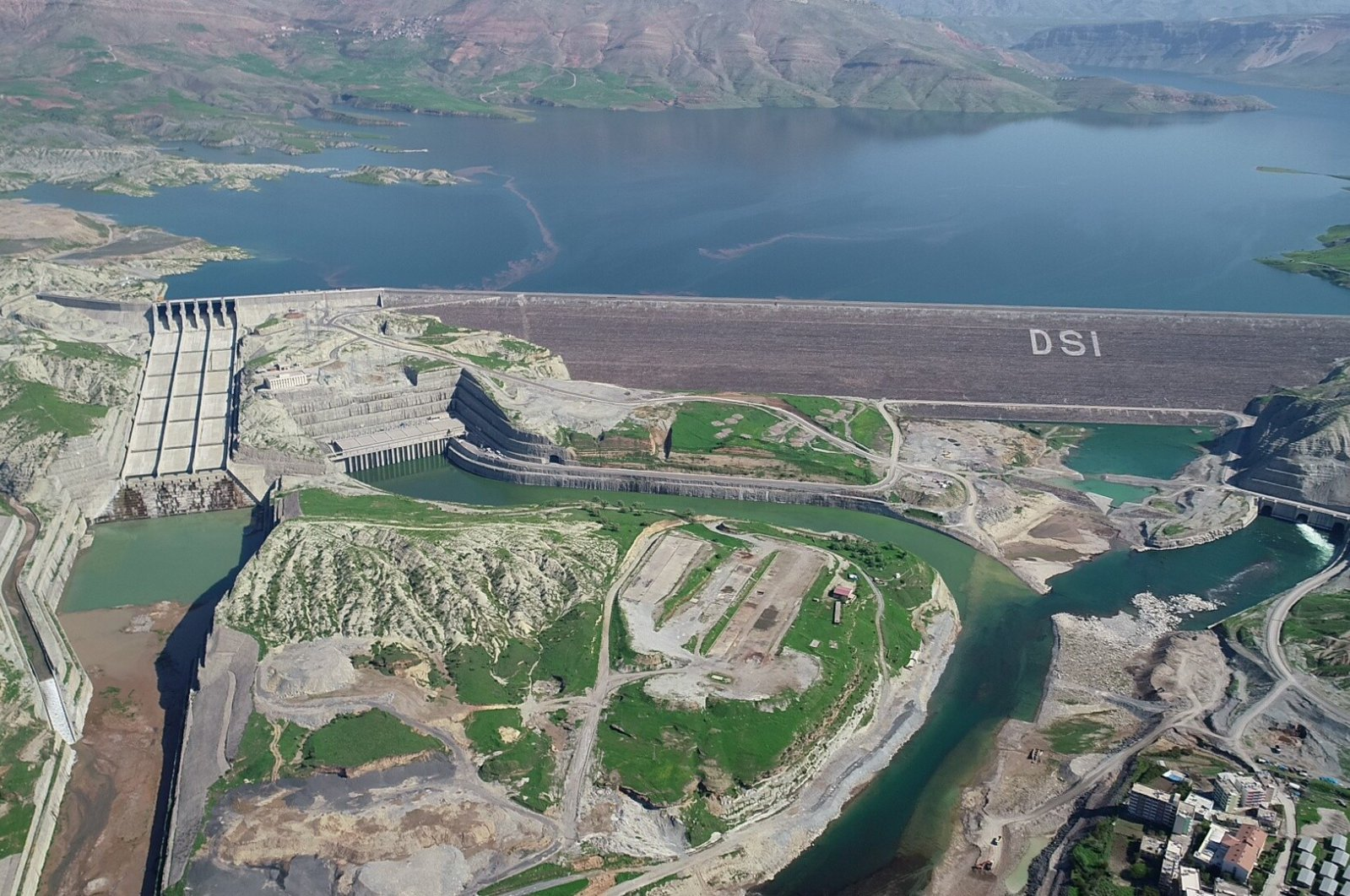 The Ilısu Dam is expected to generate 4.1 billion kilowatt-hour electricity per year. (IHA Photo)