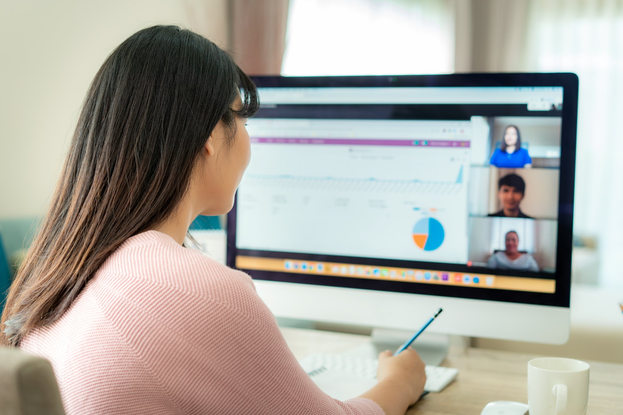 Video conferencing, virtual meetings and working from home will be more widely accepted. (iStock Photo)