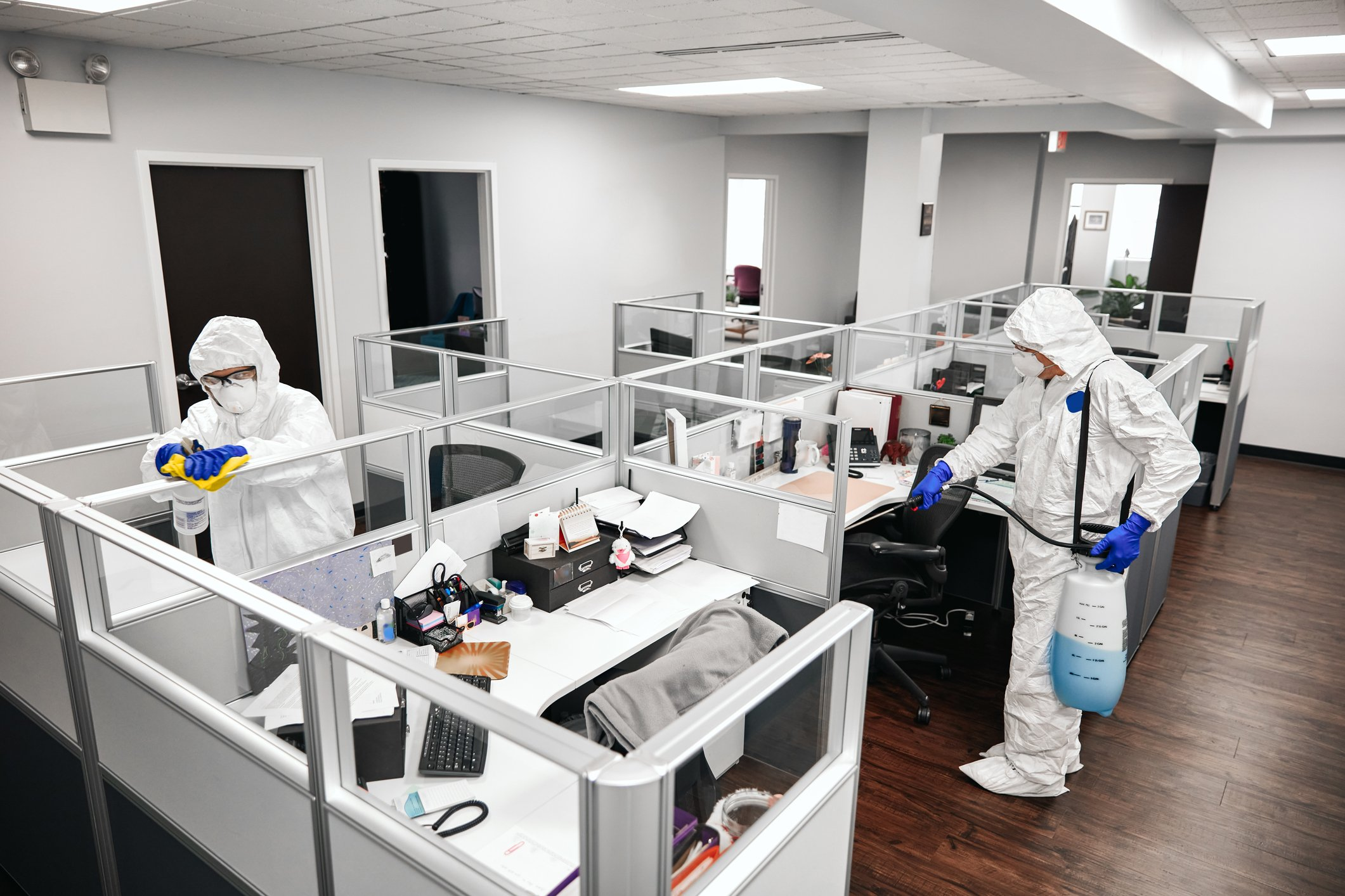 Offices and workspaces will be cleaned and disinfected much more often. (iStock Photo)