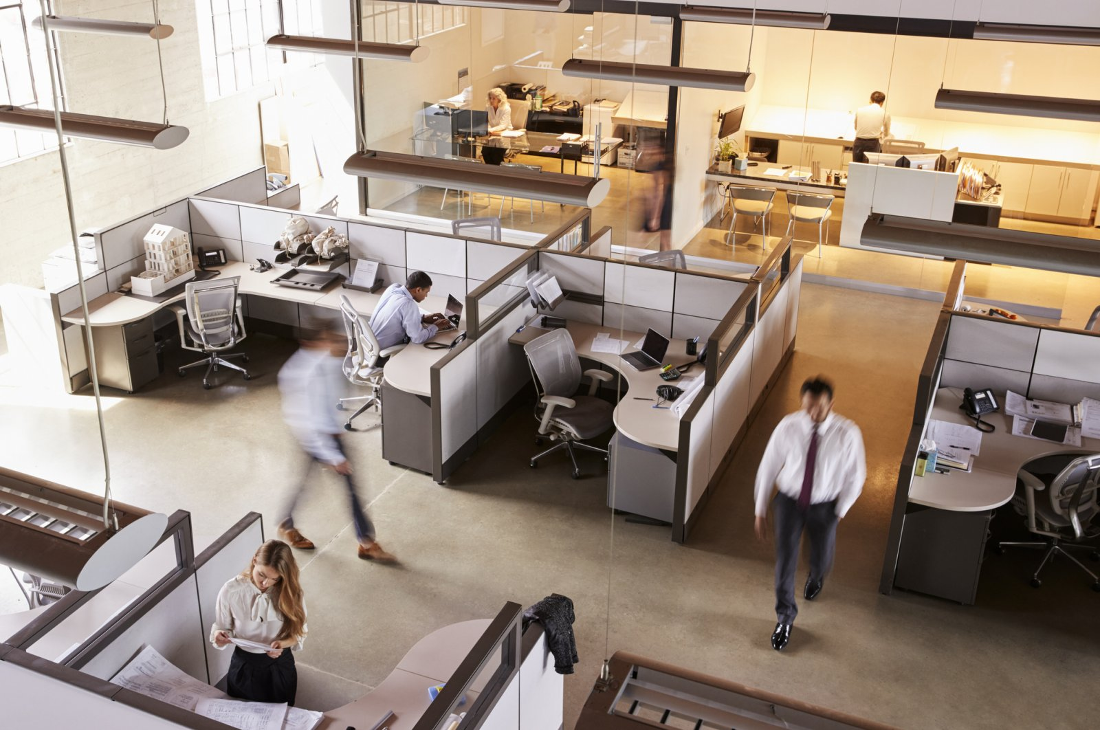This pandemic could spell the end of the modern open-plan office. (iStock Photo)