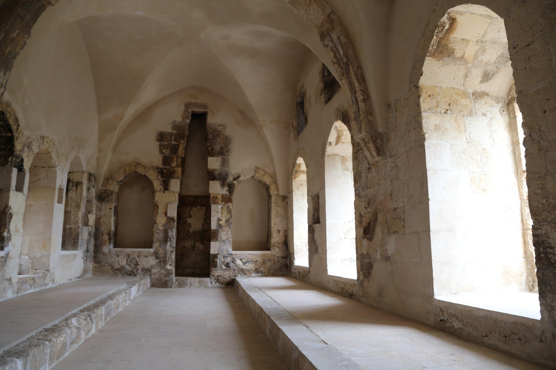 A photo from the interior of the Mor Kuryakos Monastery, Batman province, Turkey. (AA Photo)