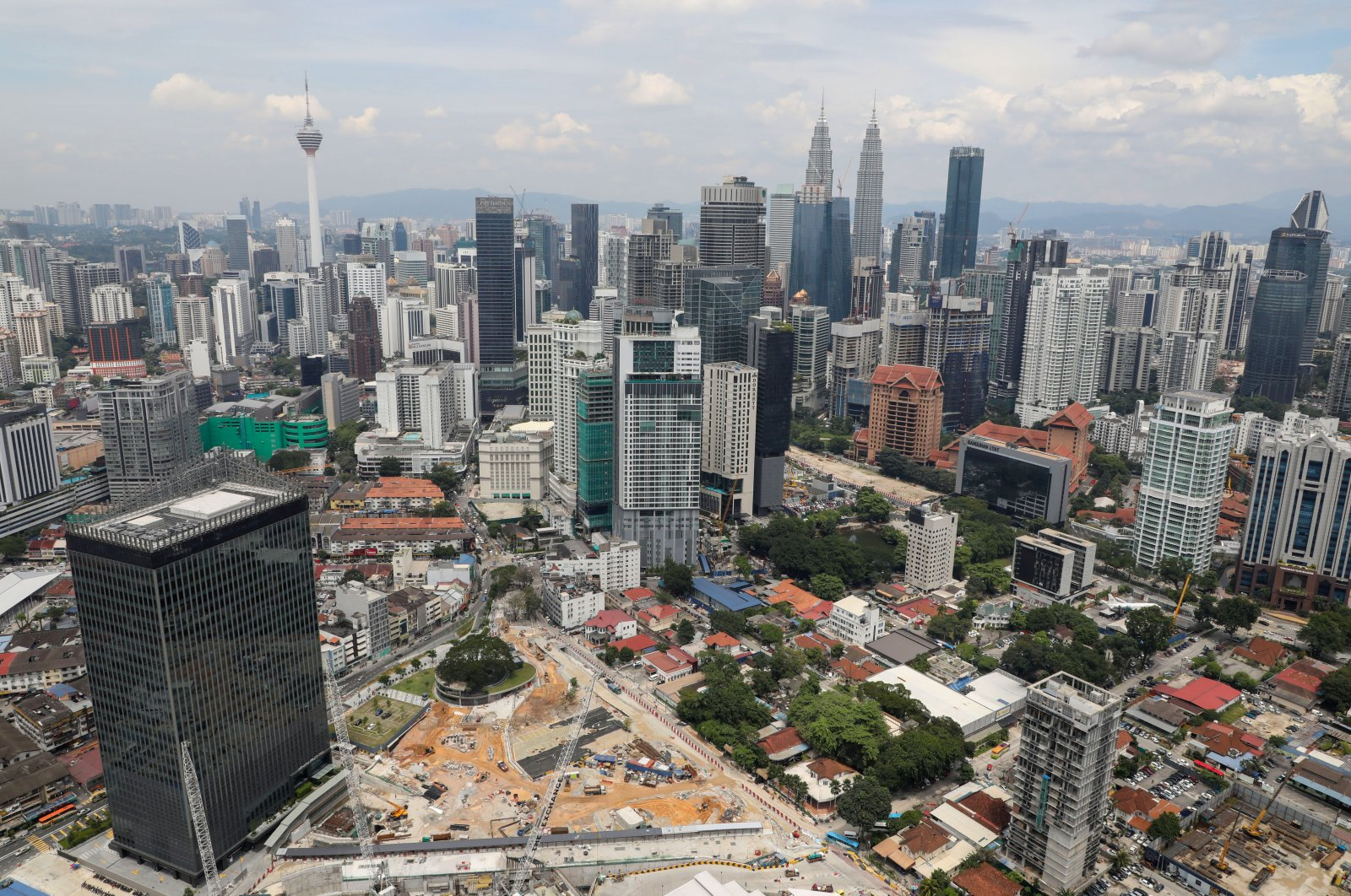 A view of the city skyline in Kuala Lumpur, Malaysia, Oct. 23, 2019. (Reuters Photo)