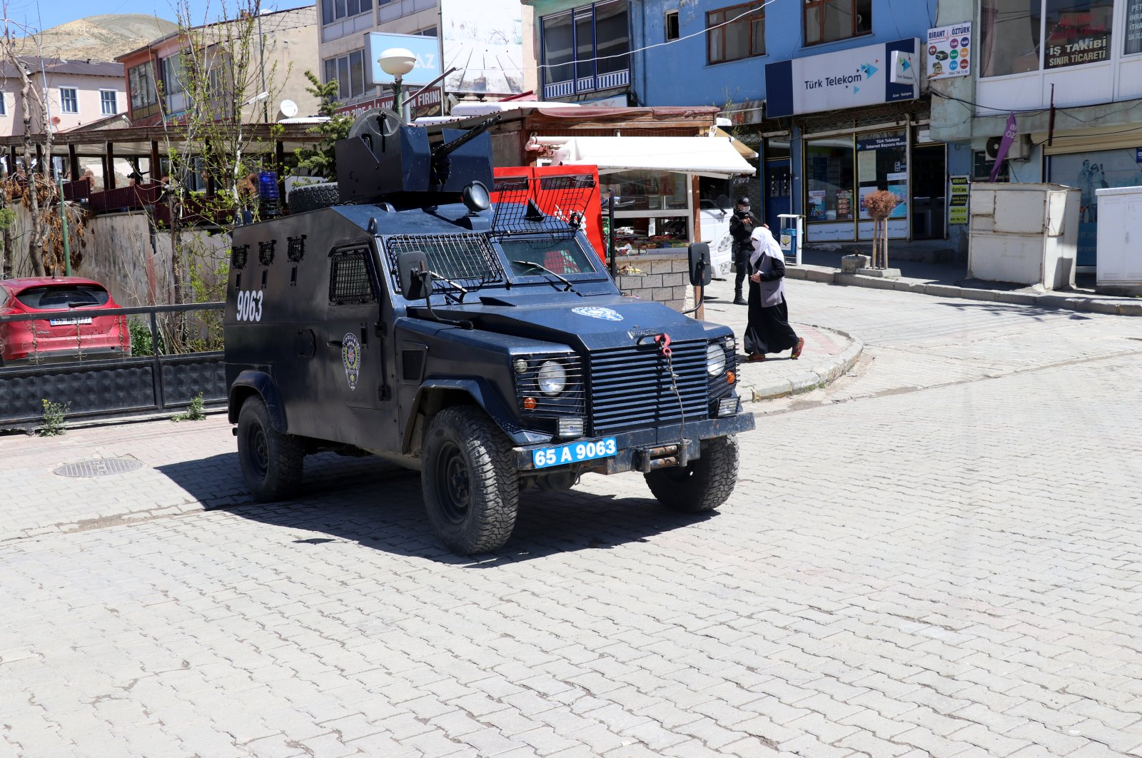 Thirty-eight people were arrested in connection with a terrorist attack on social workers in eastern Van's Özalp district, May 15, 2020. (AA Photo)
