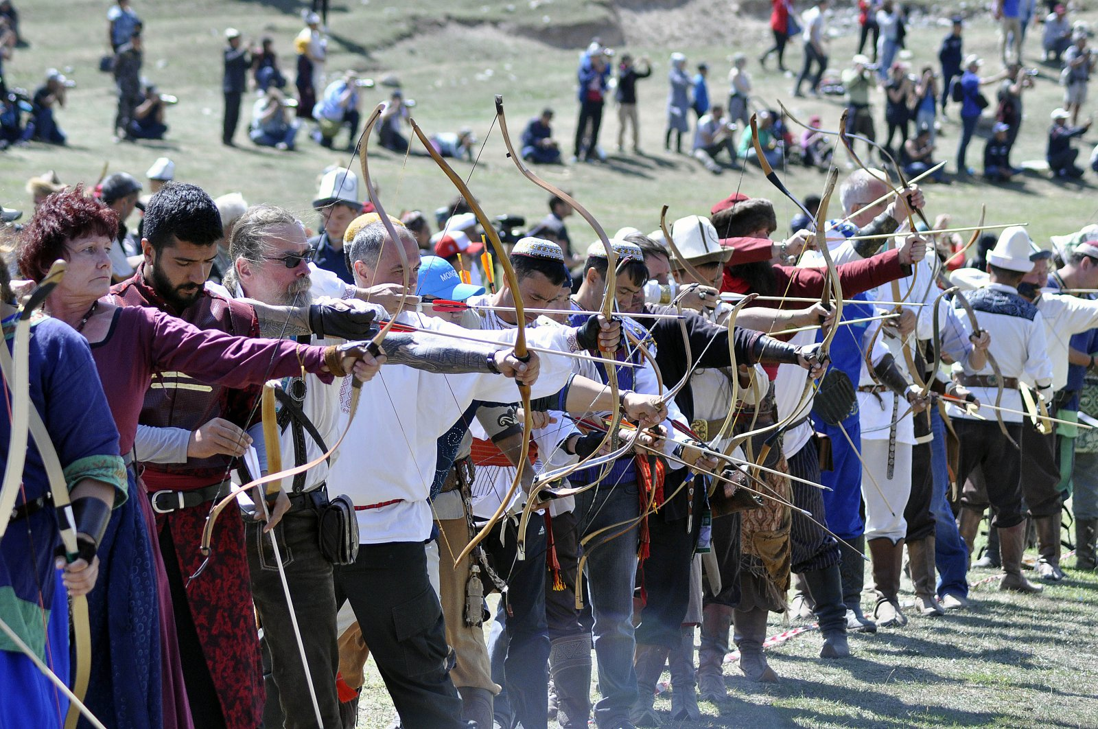 Last year's World Nomad Games was held in Kyrgyzstan. (AA Photo)