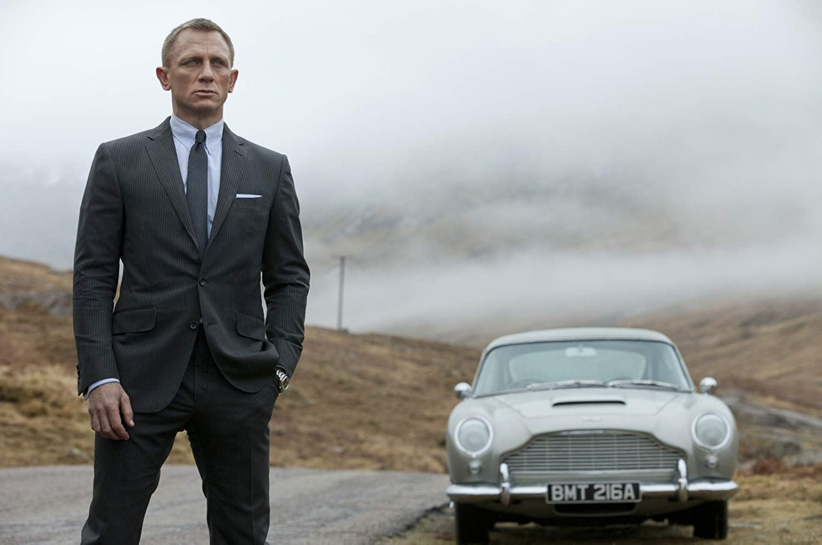 """James Bond film """"No Time to Die"""" is one of the big-budget movies whose release has been canceled due to the coronavirus."""