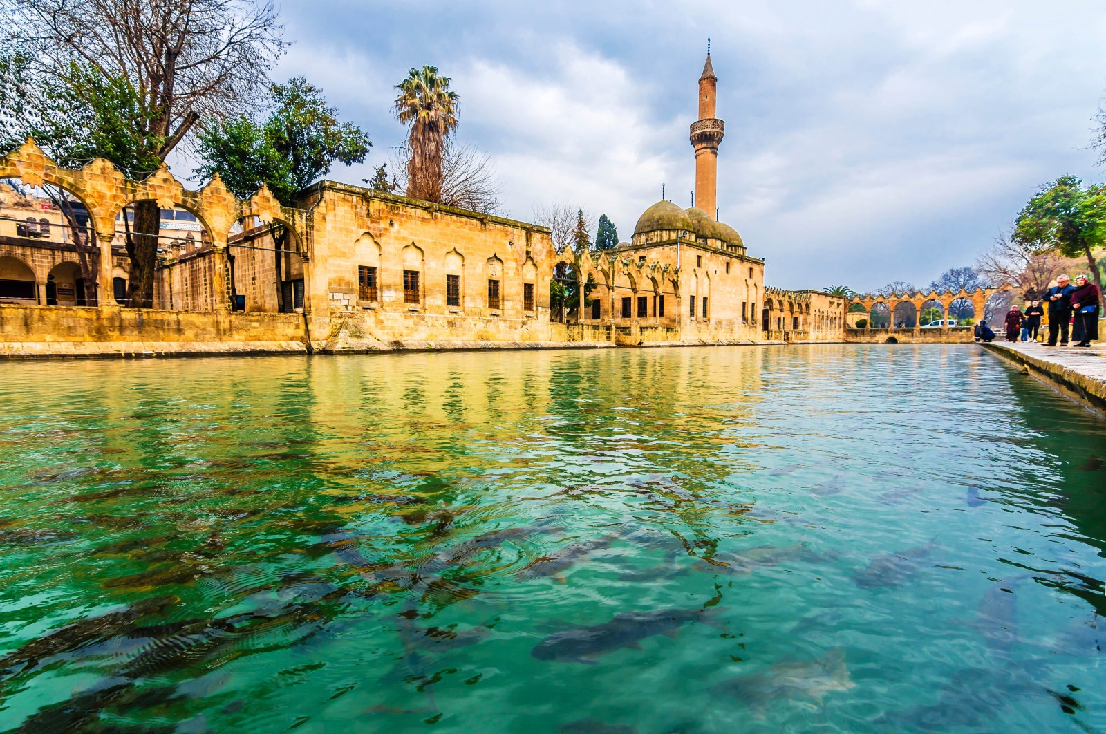 Balıklıgöl in southeastern Turkey's Şanlıurfa province has been considered sacred for thousands of years.