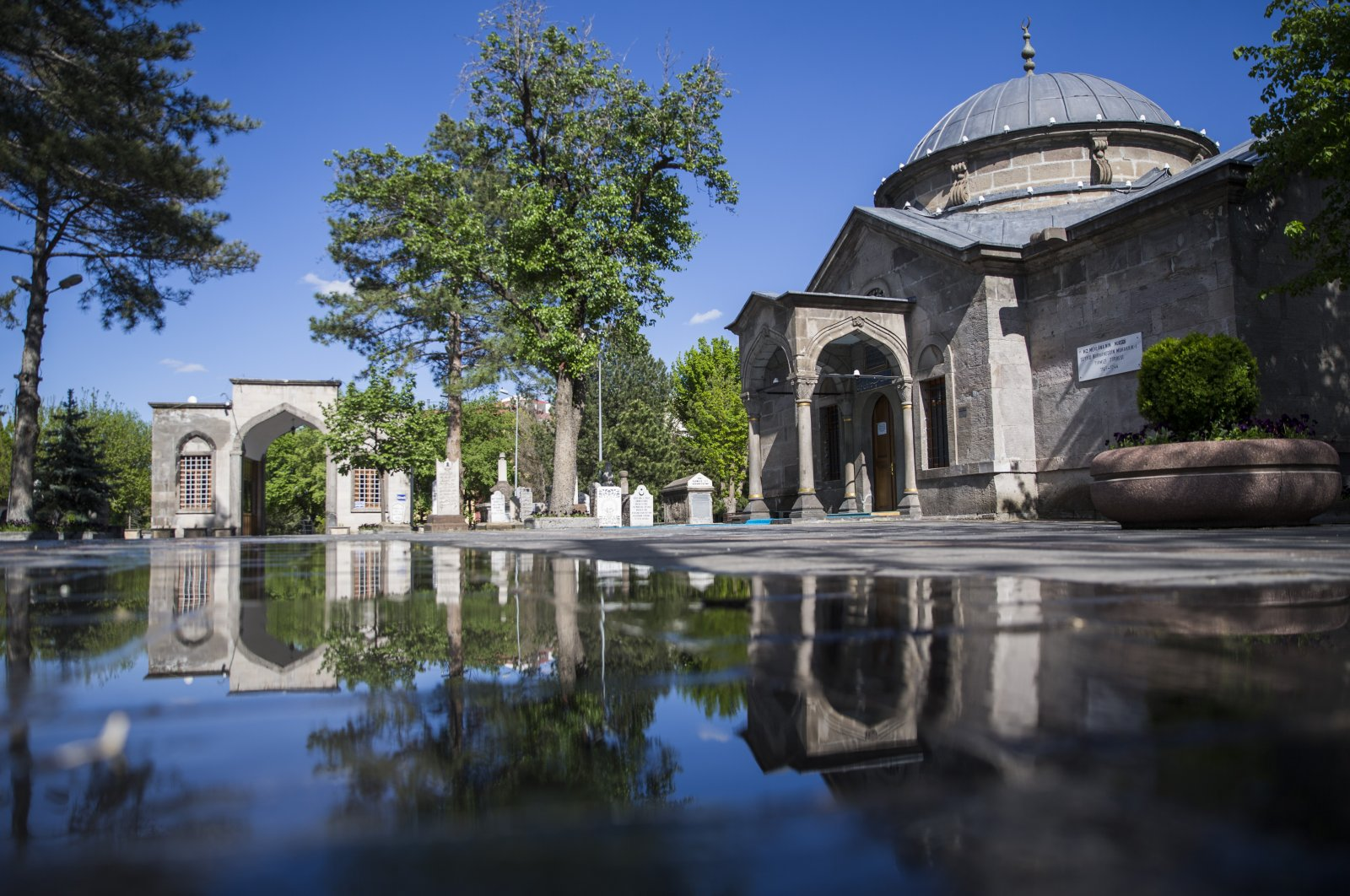 The tomb of Sayyid Burhaneddin was built in 1892 by Kayseri Gov. Mehmet Nazım Pasha, Kayseri, Turkey. (AA Photo)