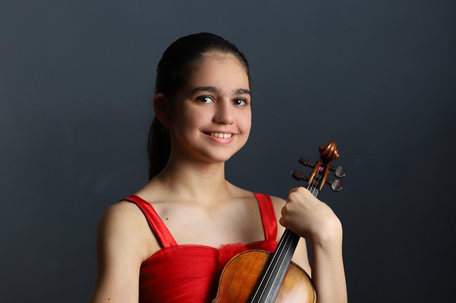 Naz Irem Türkmen started her musical journey when she was 7.