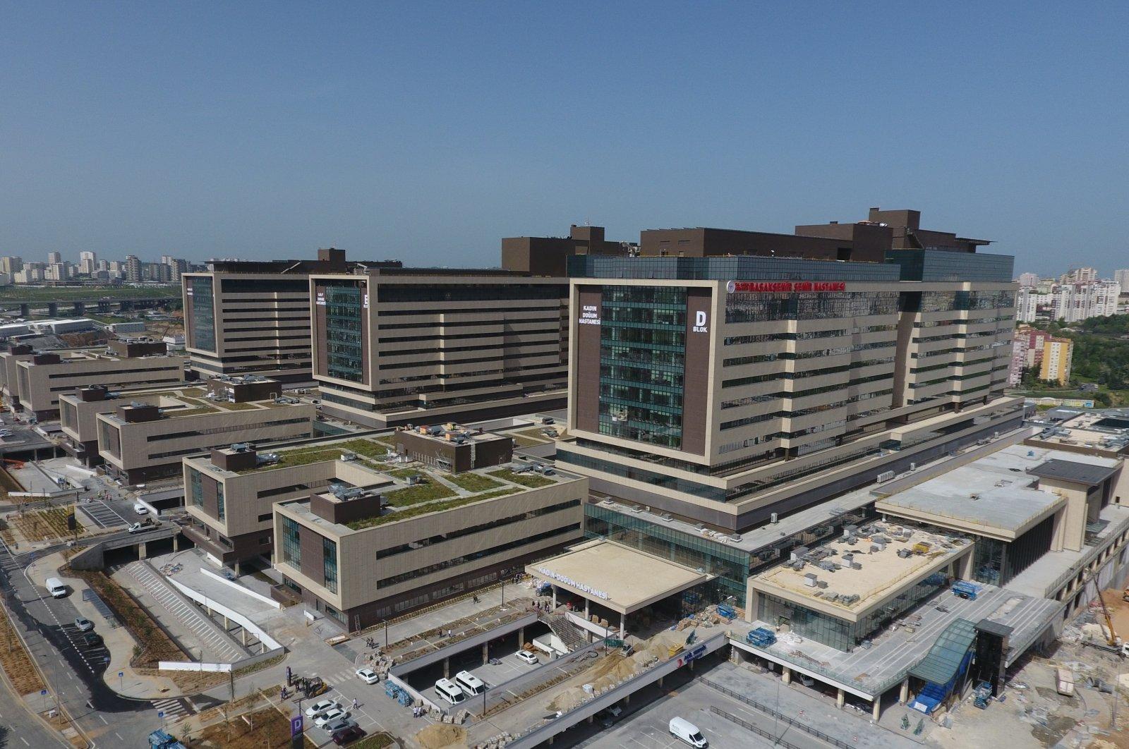 A view of Başakşehir City Hospital days before its full opening, in Istanbul, Turkey, May 17, 2020. (IHA Photo)
