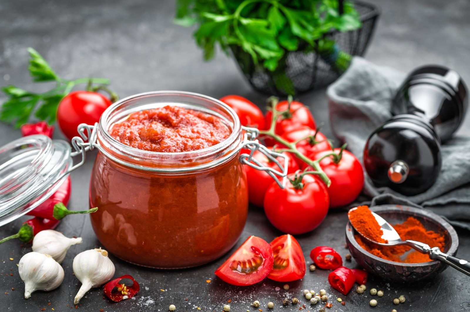 Tomato paste is among the products that saw an increase in exports from Turkey during the Coronavirus pandemic. (iStock Photo by Yelena Yemchuk)
