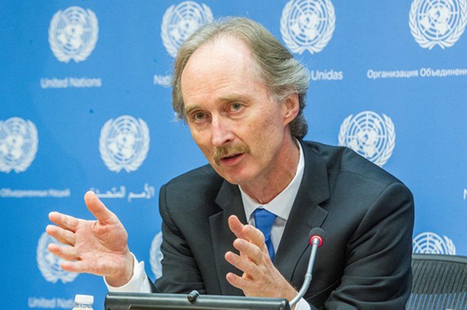 U.N. Syria envoy Geir Pedersen (AA Photo)