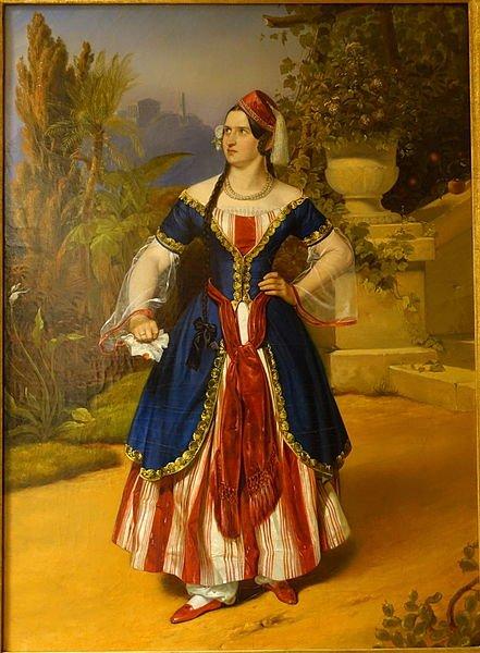 Caroline Fischer-Achten as Constanze in Mozart's