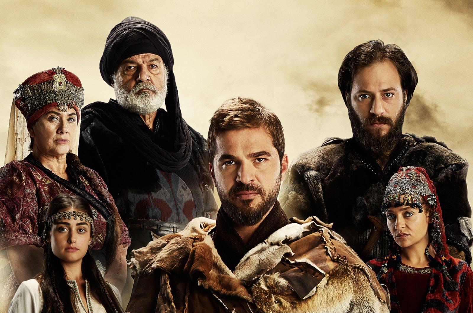 "The poster of the Turkish drama series ""Resurrection: Ertuğrul."""