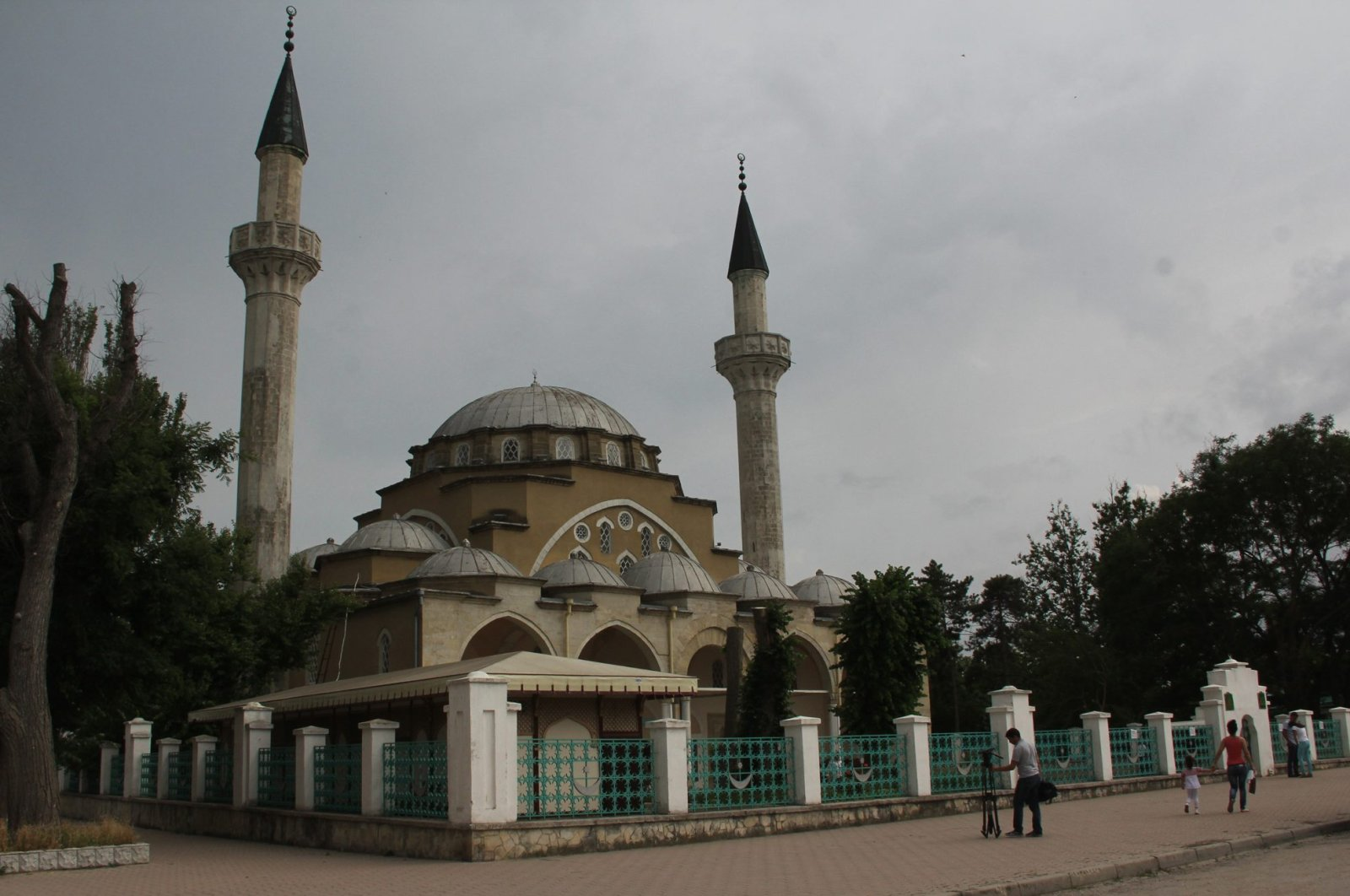 The picture shows general view of Dzhuma Han Mosque in Simferopol, Crimea, Ukraine. (Anadolu Agency Photo)