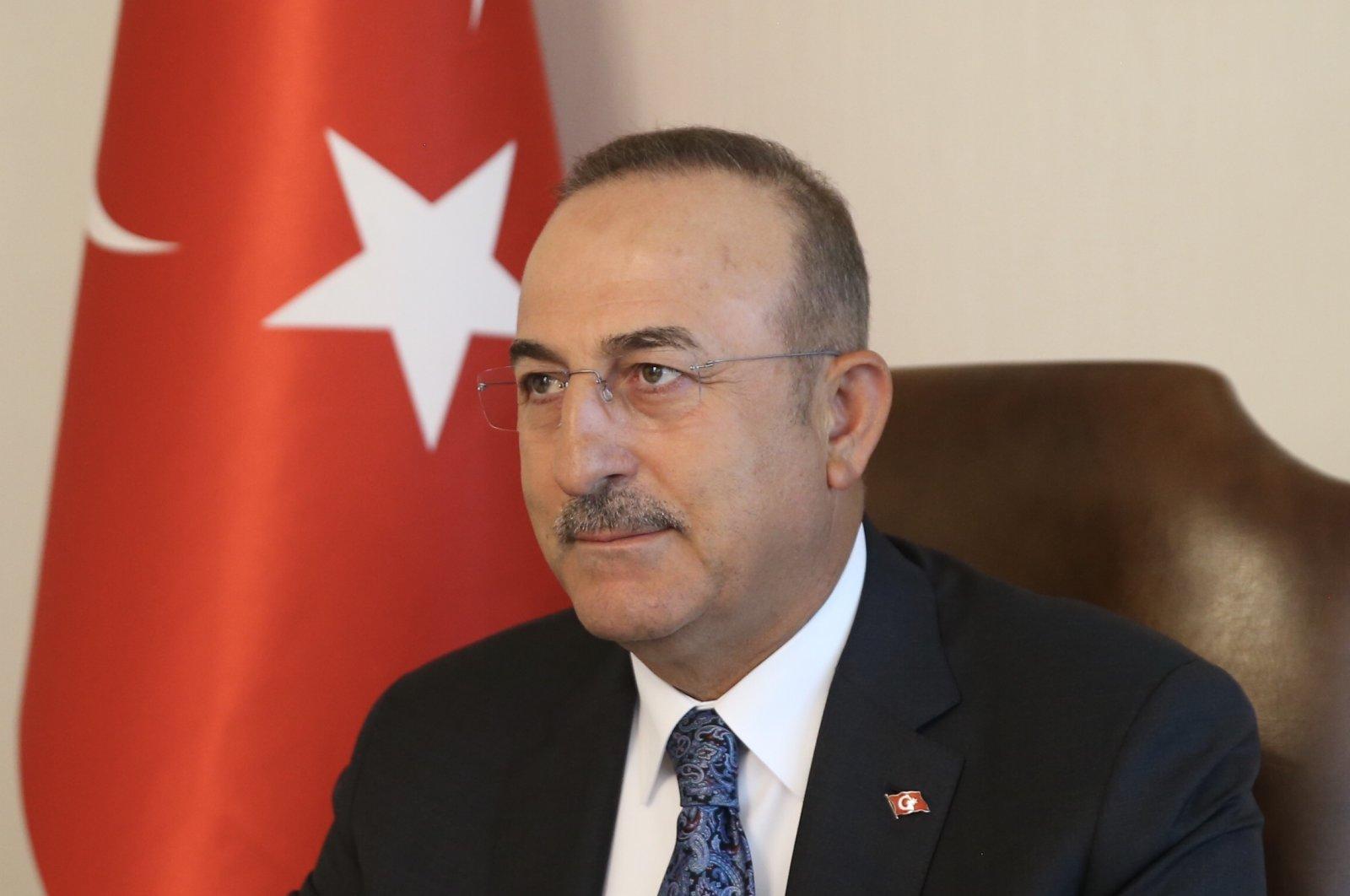Foreign Minister Çavuşoğlu (AA Photo)