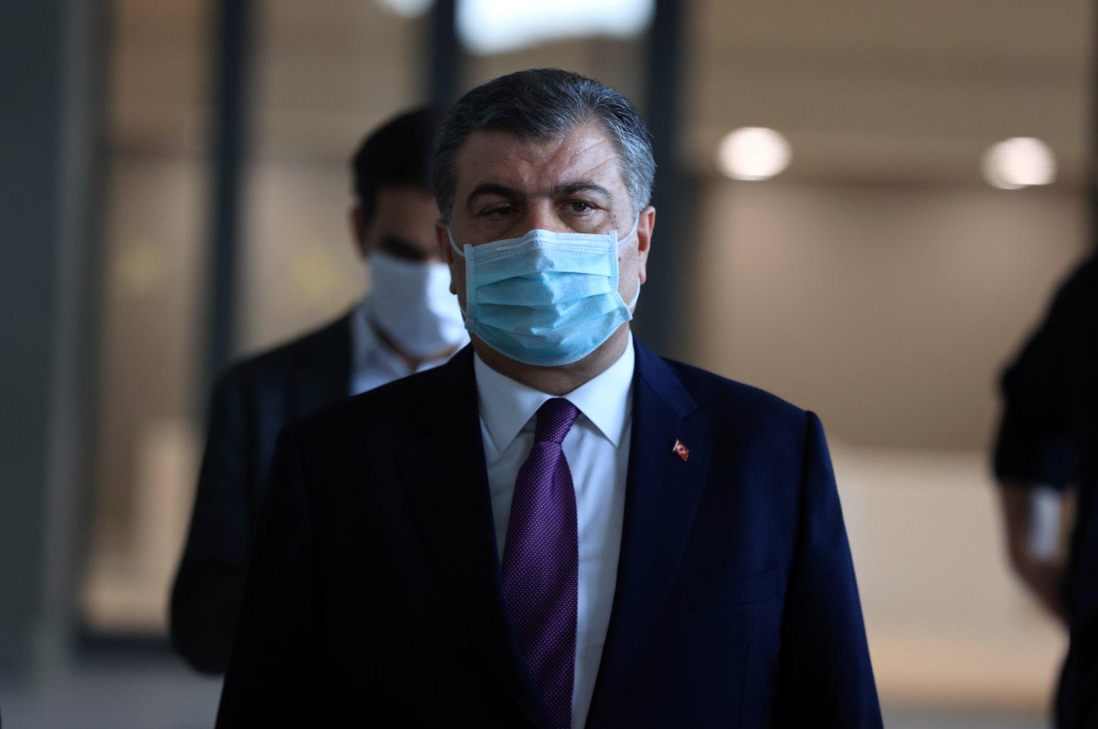 Health Minister Fahrettin Koca. (AA)