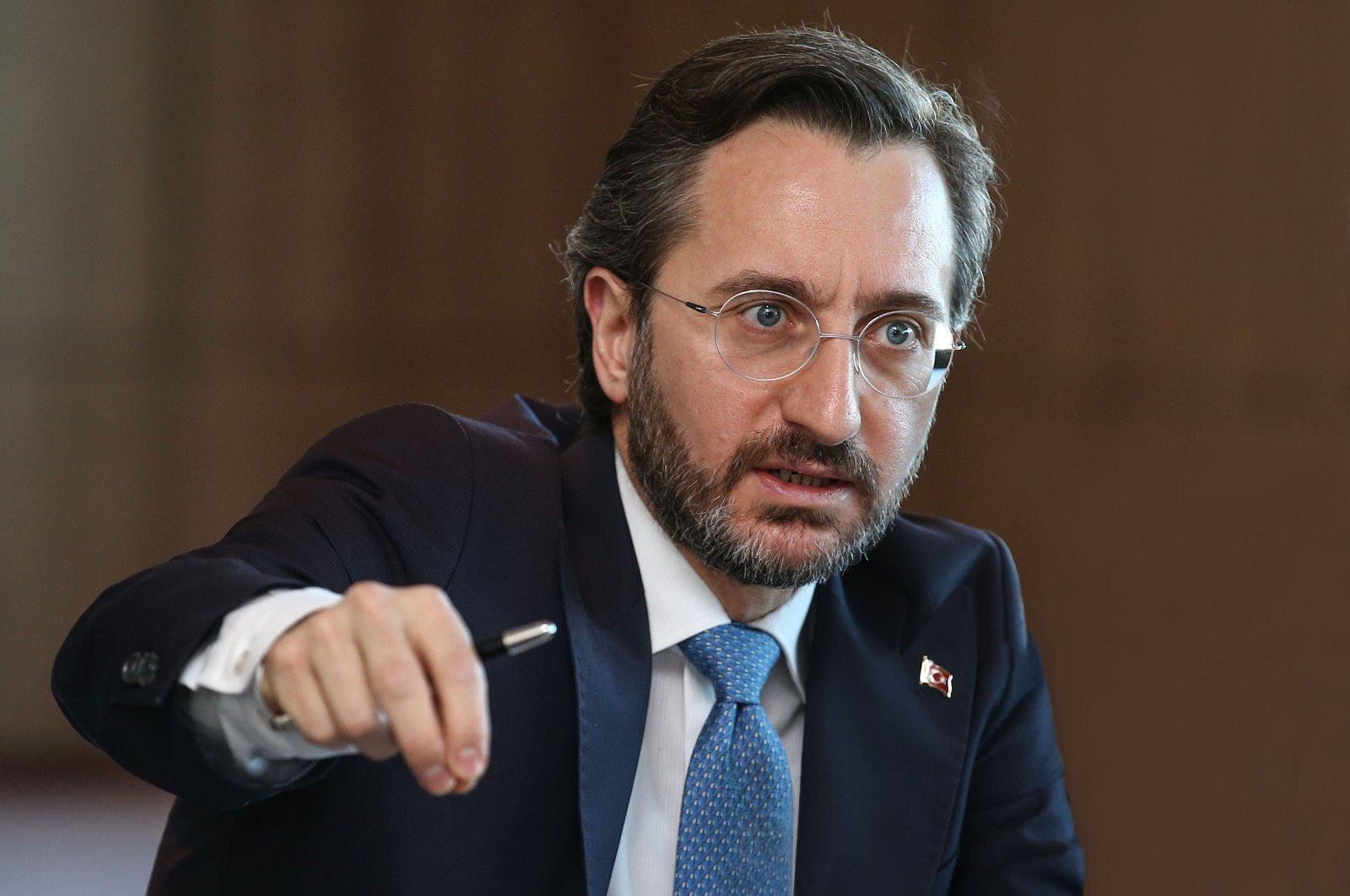 Presidential Communications Director Fahrettin Altun.