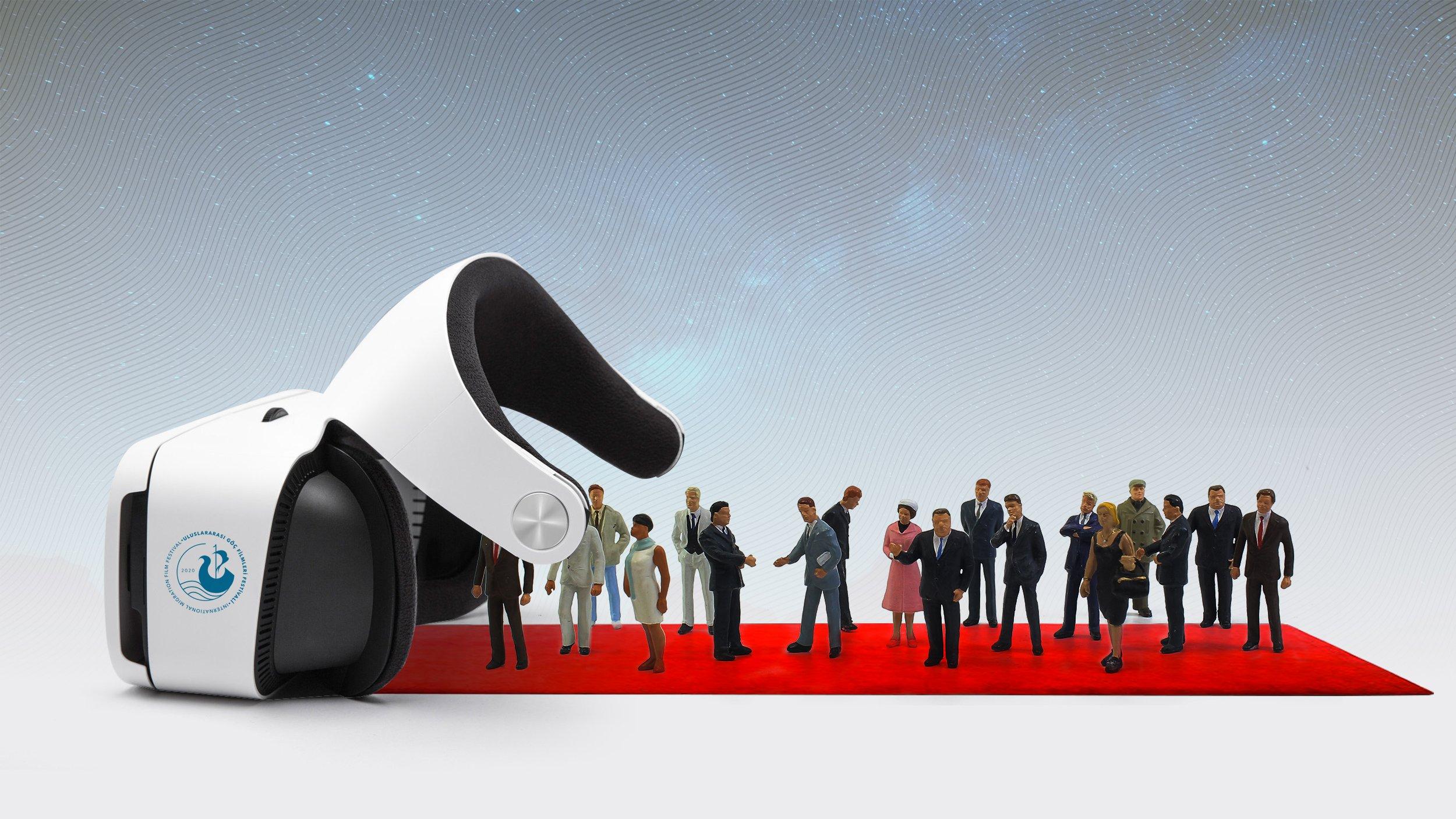 作为节日的一部分,您可以使用VR眼镜参观有关移民和历史遗址的特别展览。