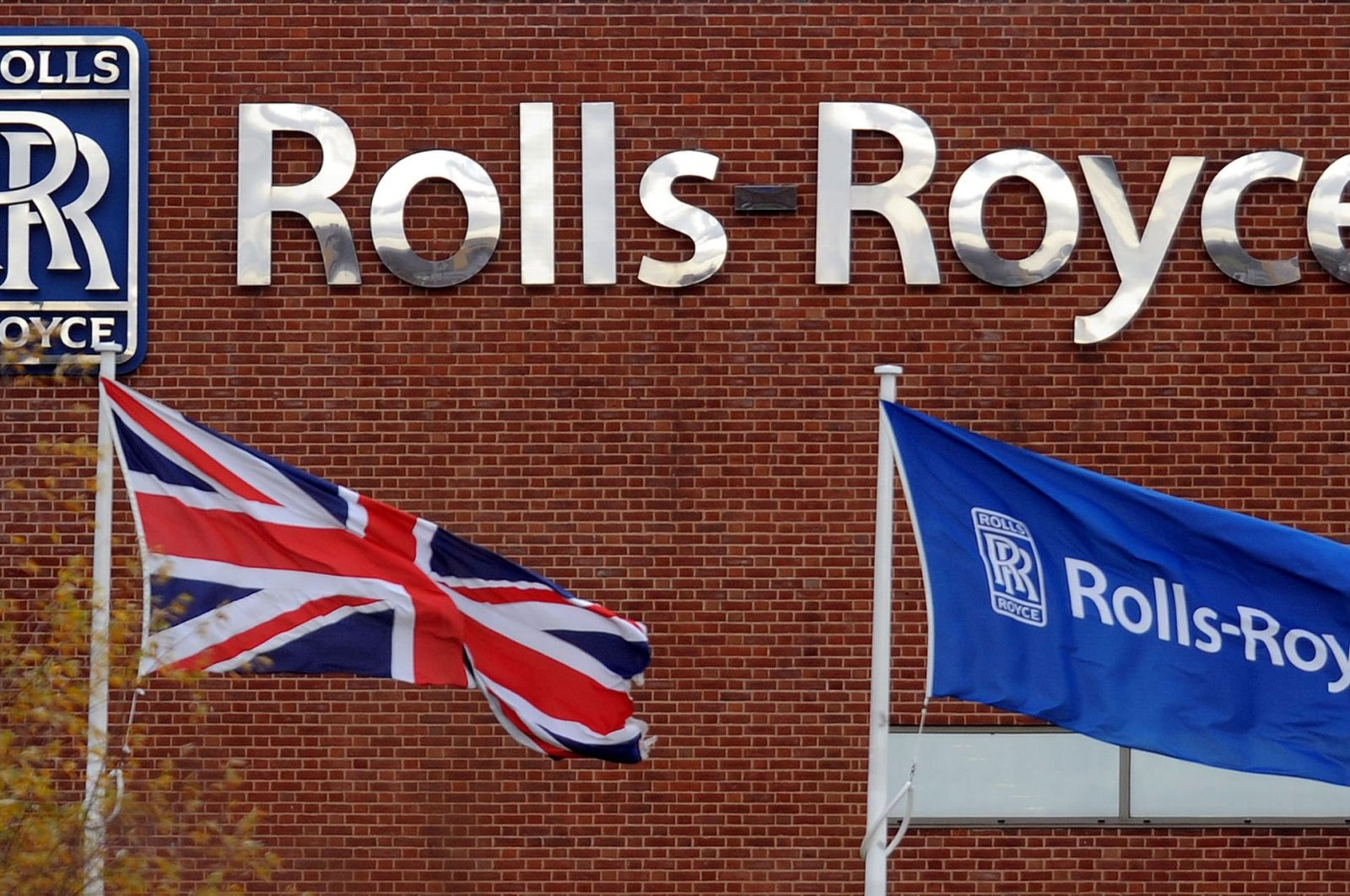 A general view of the Rolls Royce factory is pictured in Allenton, Derby, England, Turkey, Nov. 20, 2008. (AFP Photo)