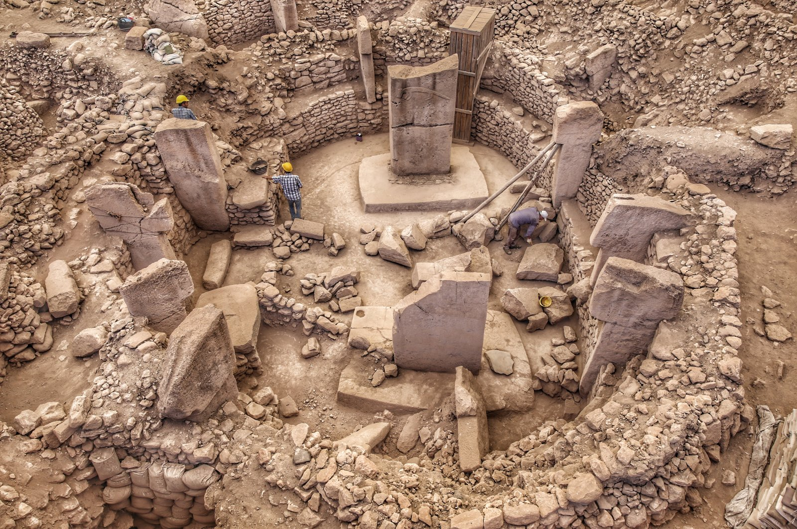 Göbeklitepe has been visited 1,673,000 times. (Photo by Saffet Azak)