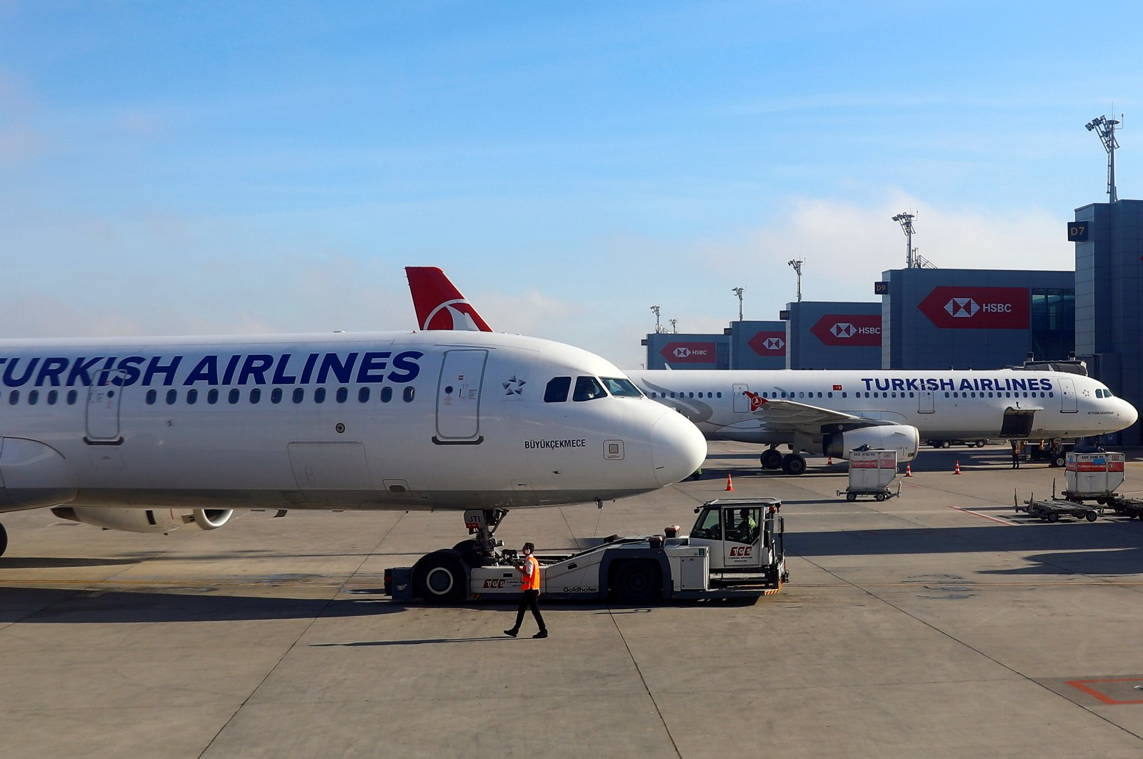 Turkish Airlines planes sit at Istanbul Airport, Turkey, May 27, 2019. (Reuters Photo)